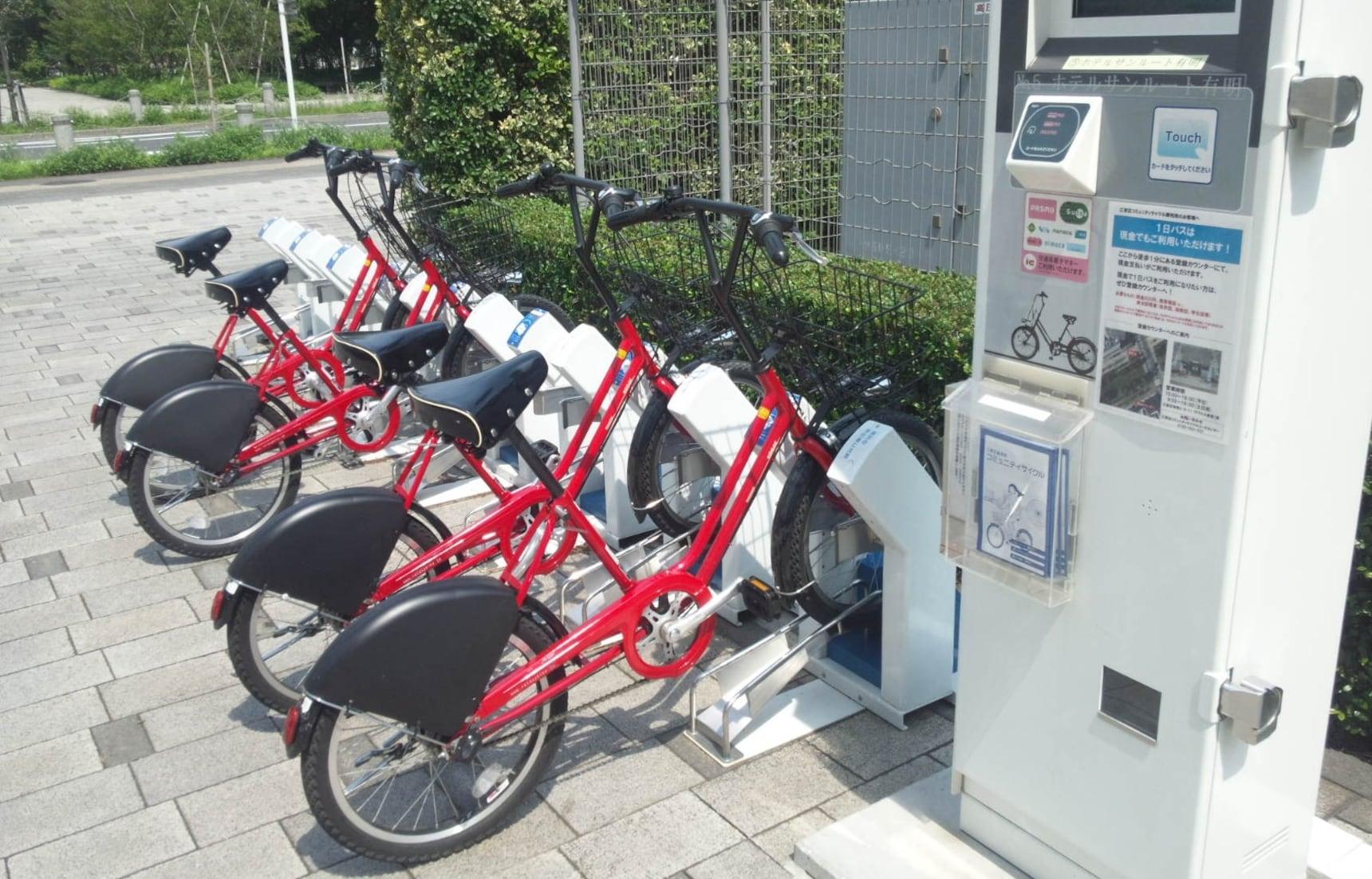 5 แหล่งเช่า/ยืมจักรยานในโตเกียว