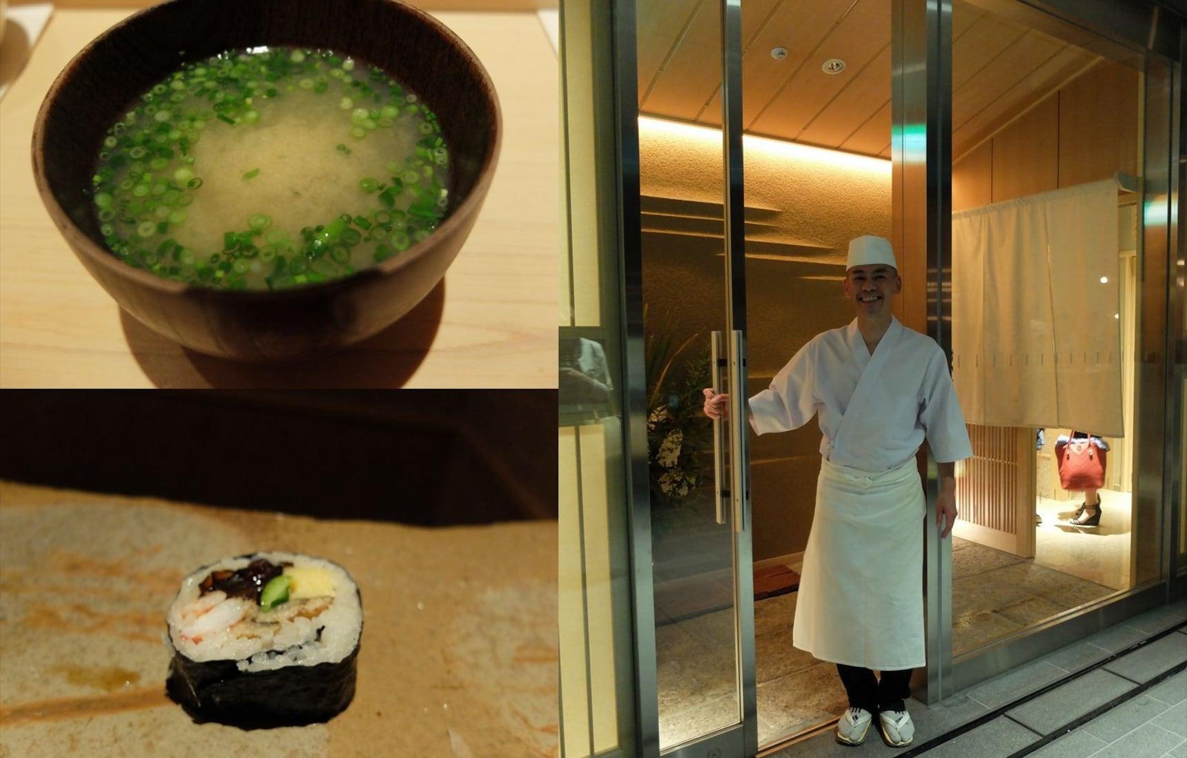 全世界坐席数最少的米其林三星店:斋藤寿司店