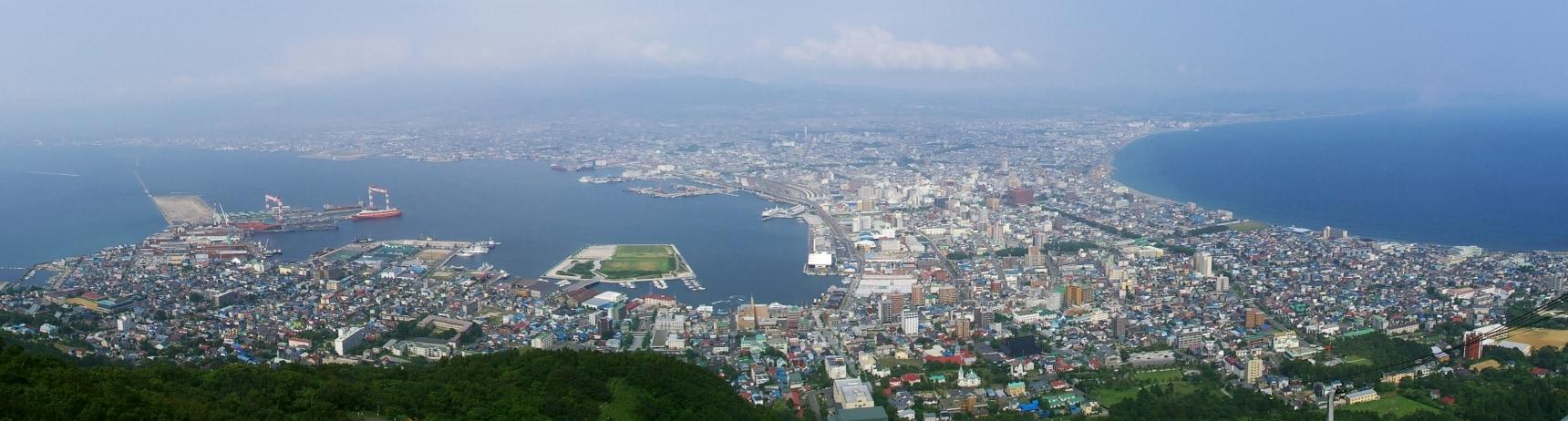 來自函館山頂的你