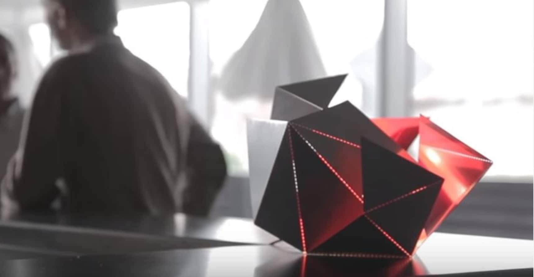 Origami-Style Lamp