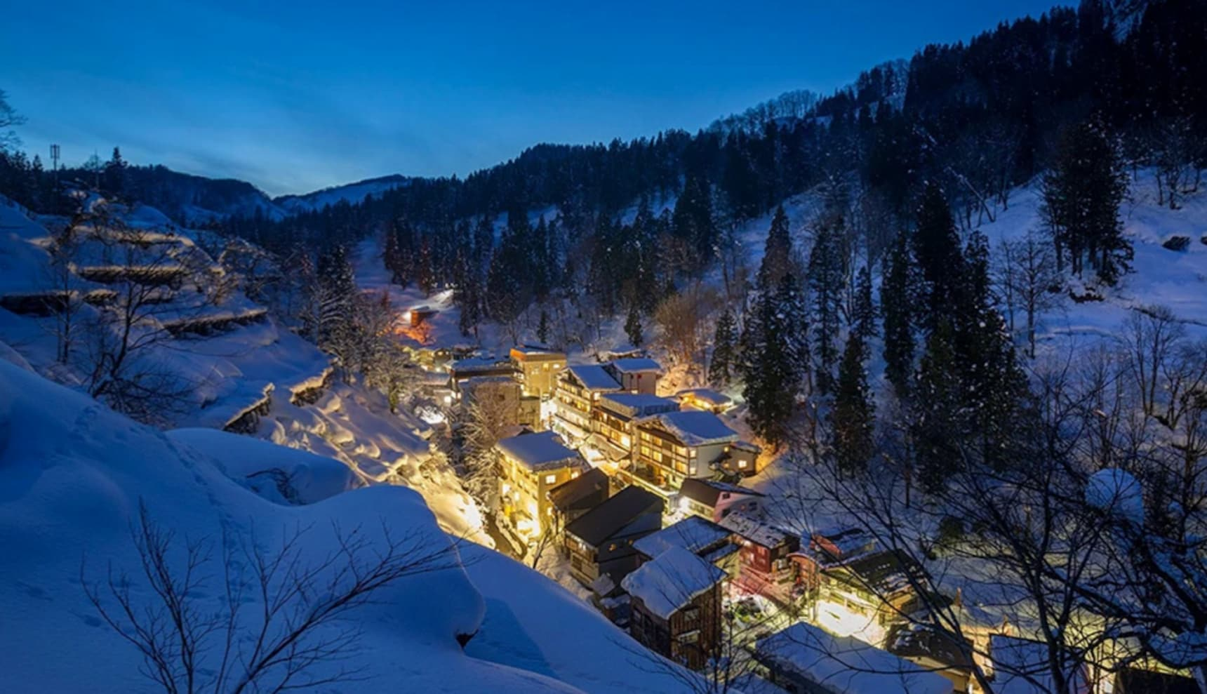 松之山温泉祭―在被积雪包围的温泉小镇悠閒的边吃边喝边散步吧
