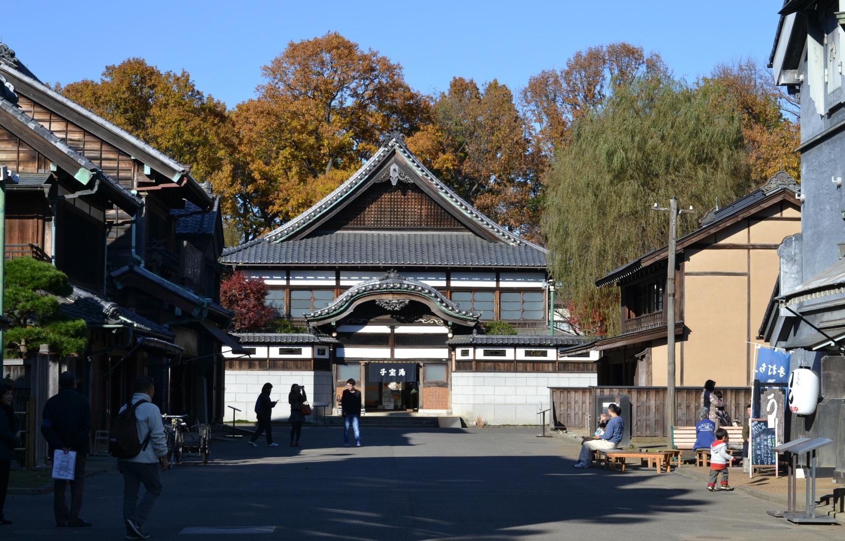도쿄의 옛 건물을 찾아서 '에도도쿄타테모노엔'