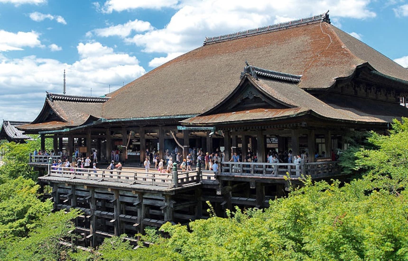 No Trees, No Kiyomizu-dera