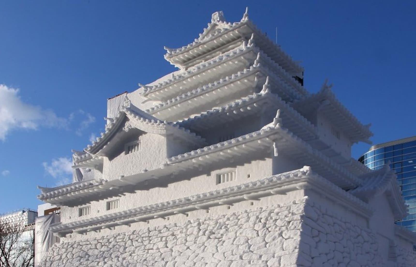 순백의 땅:홋카이도 눈 축제