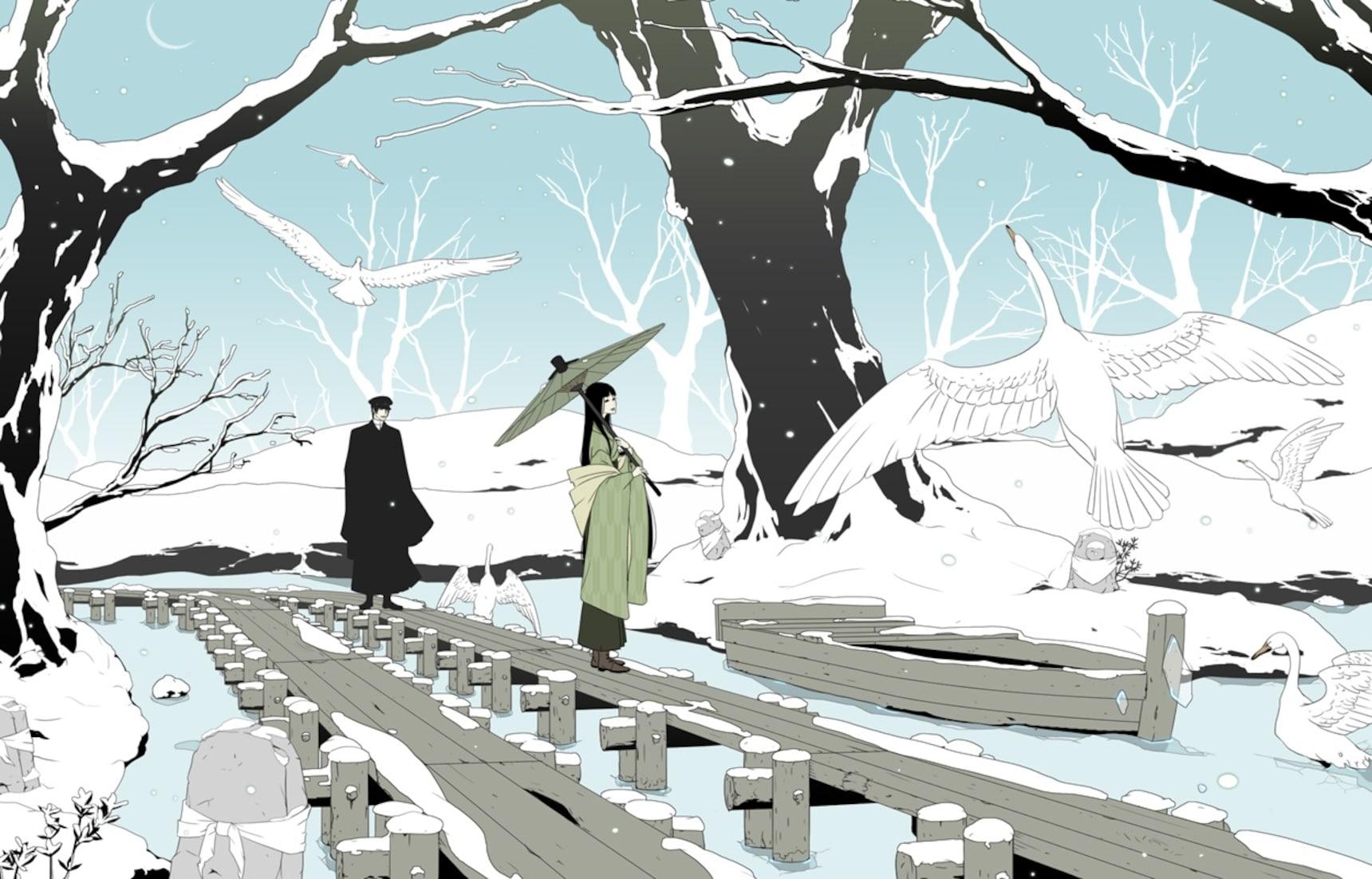 探訪川端康成《雪國》中的美景