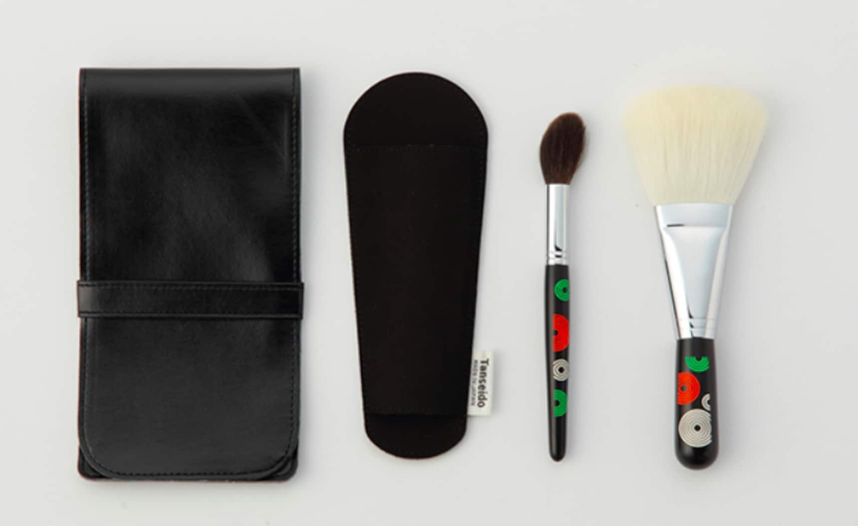 浓淡相宜 - 3种熊野传统化妆笔套装