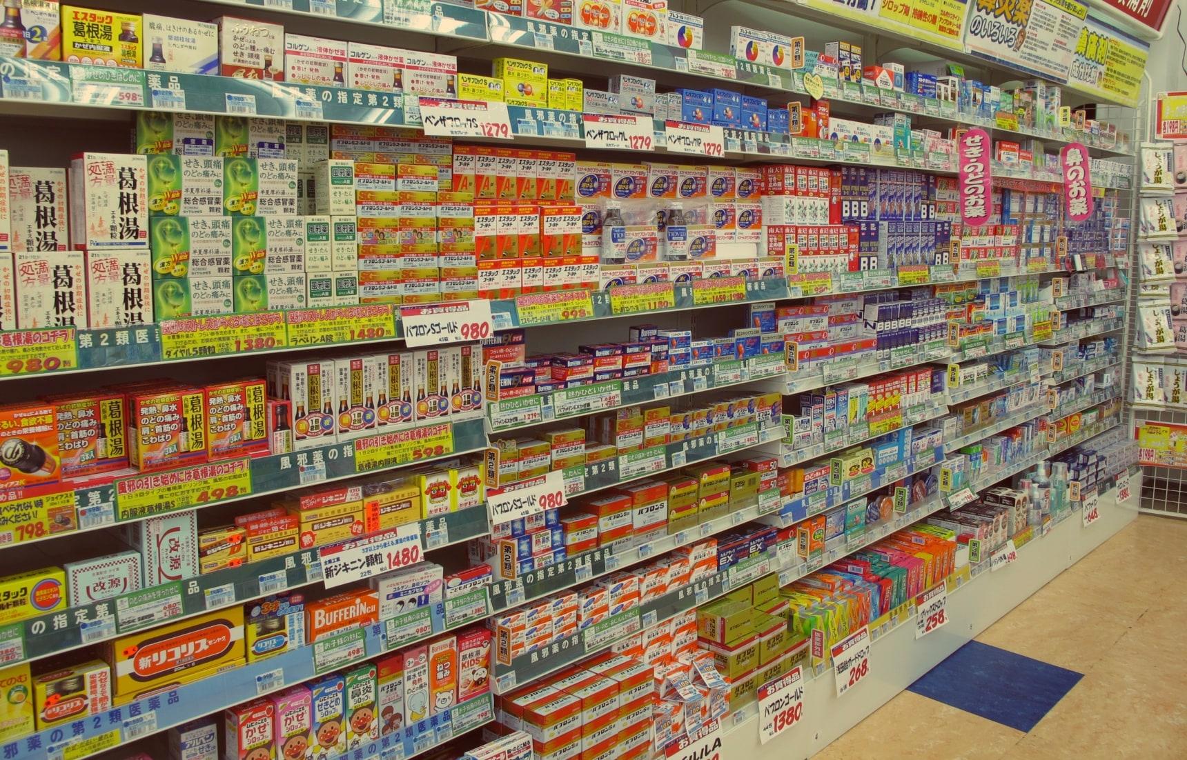 일본에서 소화불량에 대처하는 방법?