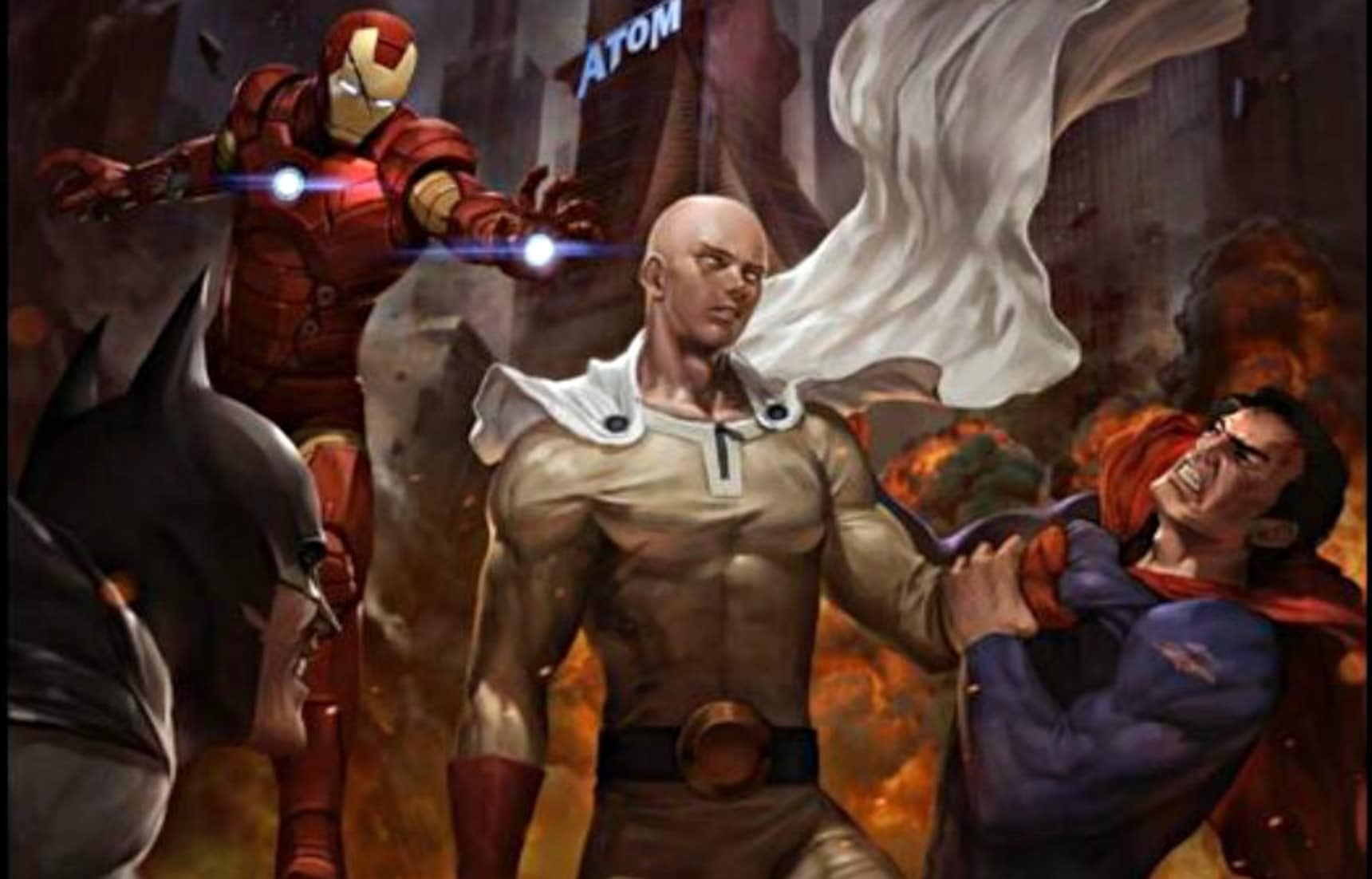 Who in Marvel or DC Can Defeat Saitama?