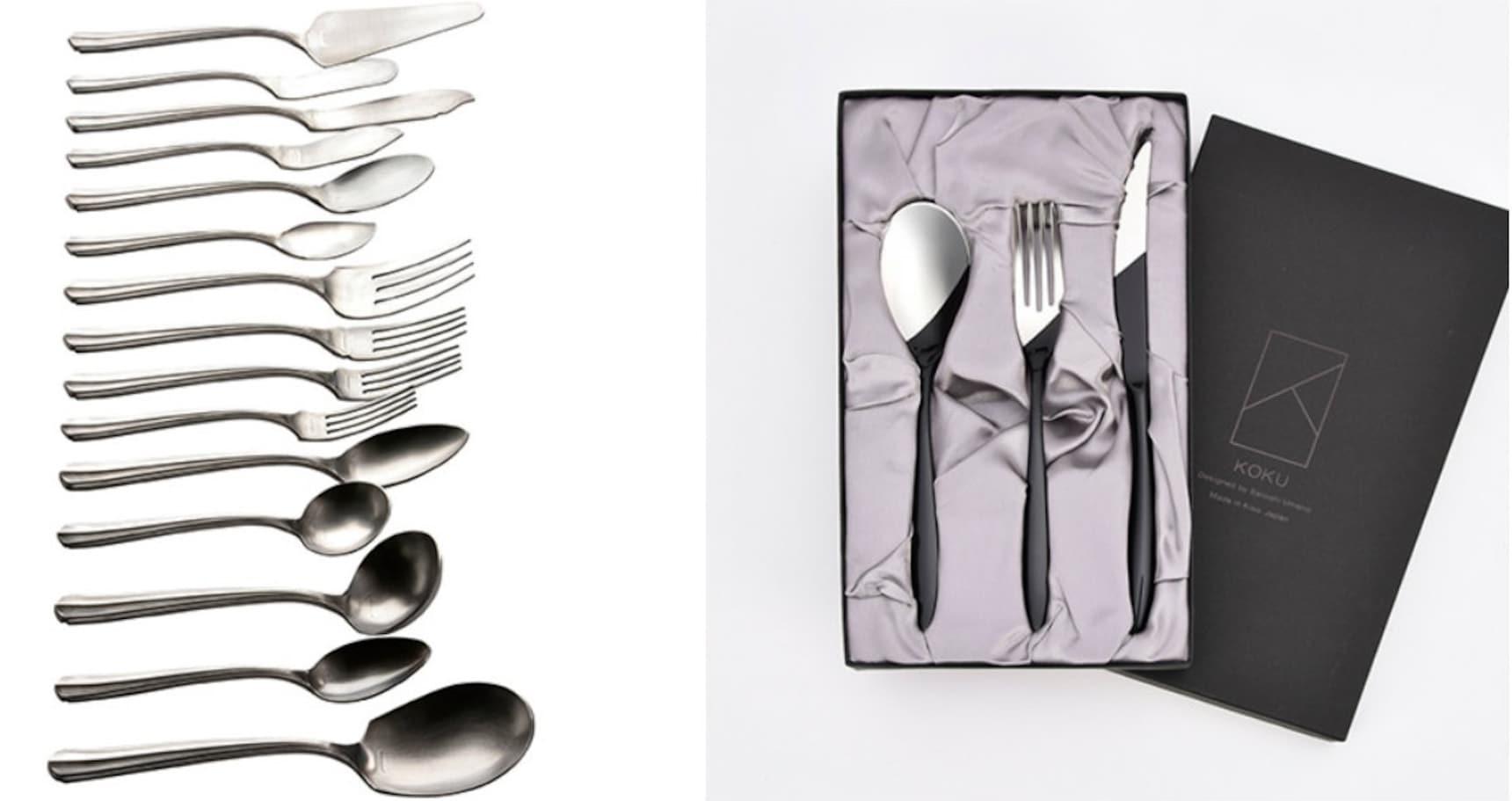 4 Beautiful Cutlery Sets
