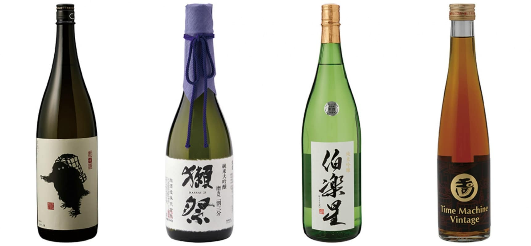 A Great Selection of Sake from Across Japan
