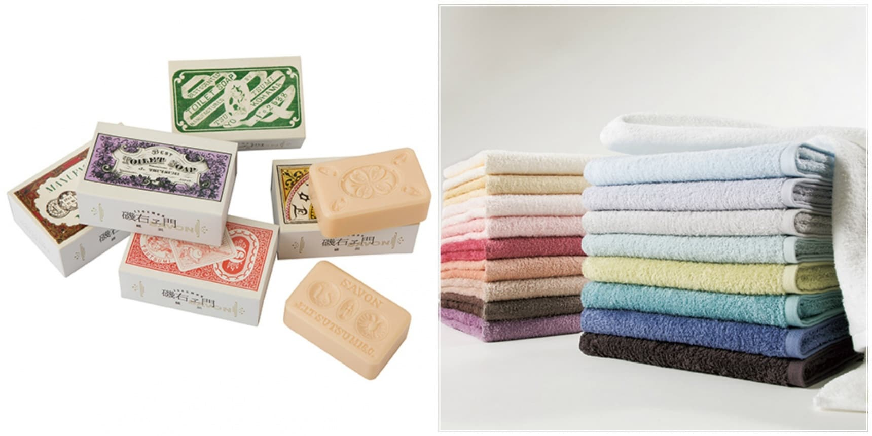 Bathroom Beauty: Soaps & Towels