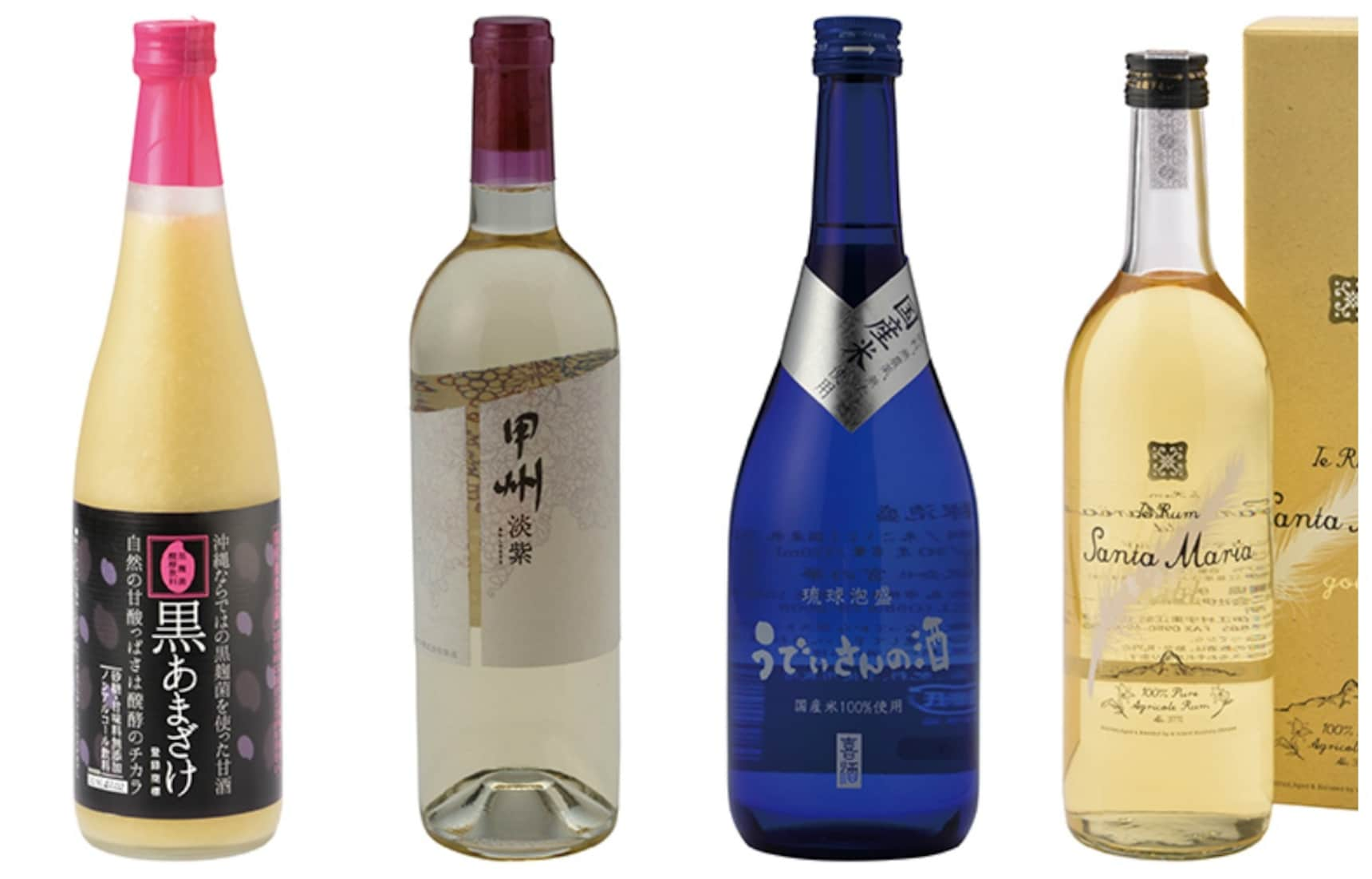 4 of Japan's Lesser-known Liquors