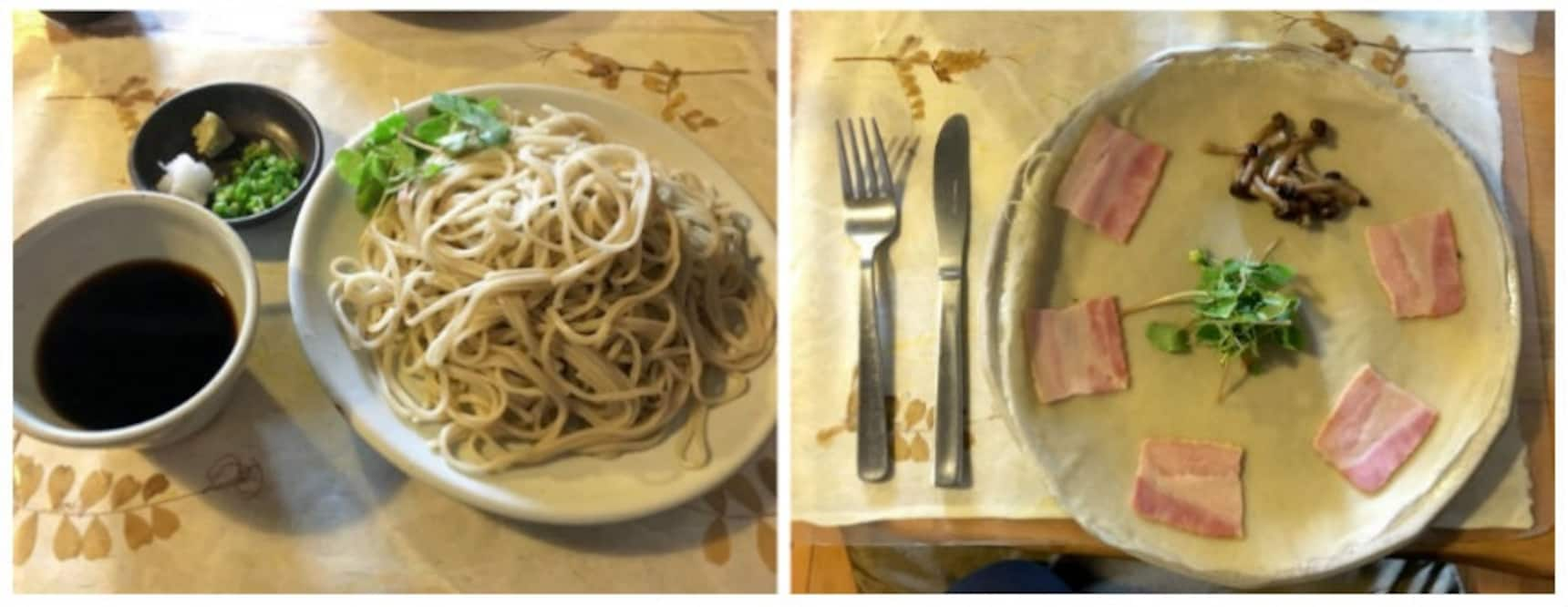 A Delicious 3-Course Meal Featuring Soba!
