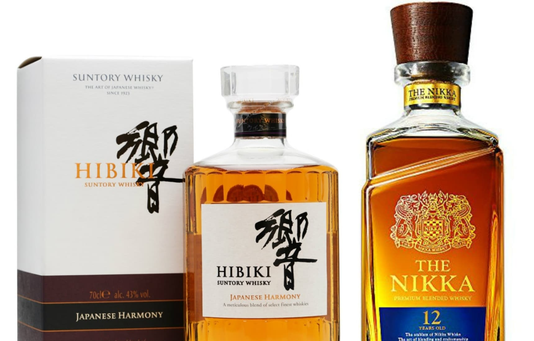 Order these 5 Japanese Whiskys Online