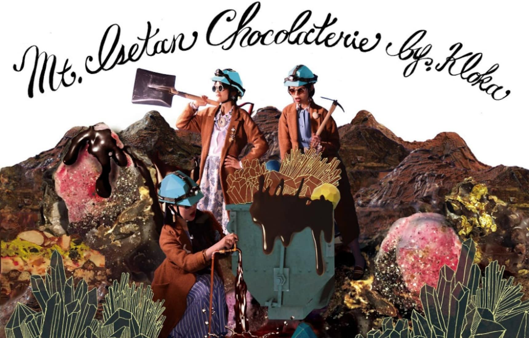 Take Your Date Chocolate Mining
