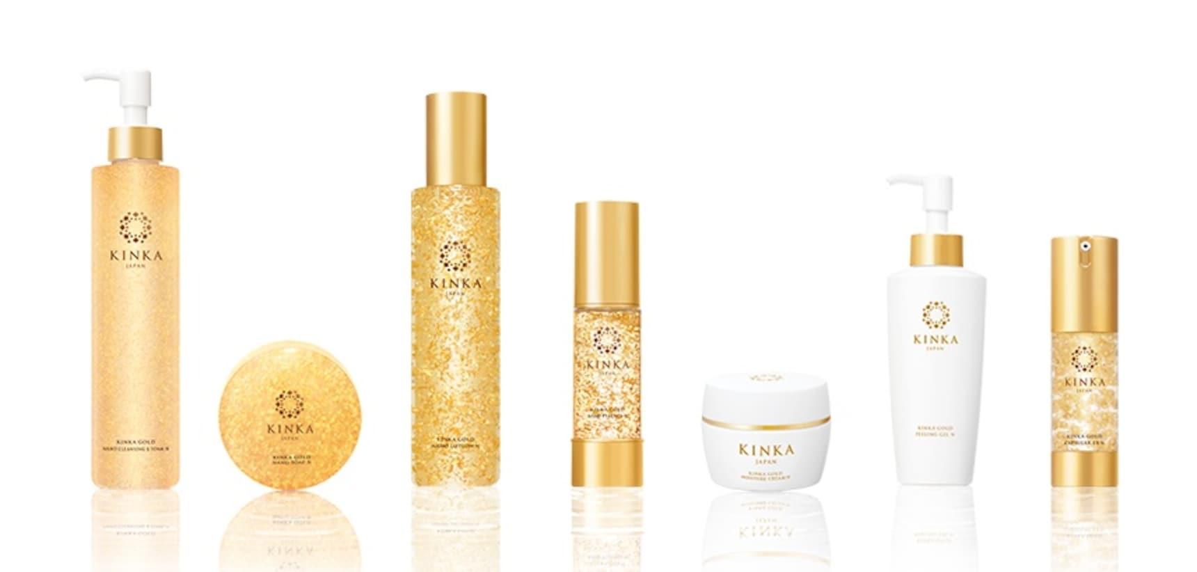 Top 5 Gold Cosmetics from Kanazawa