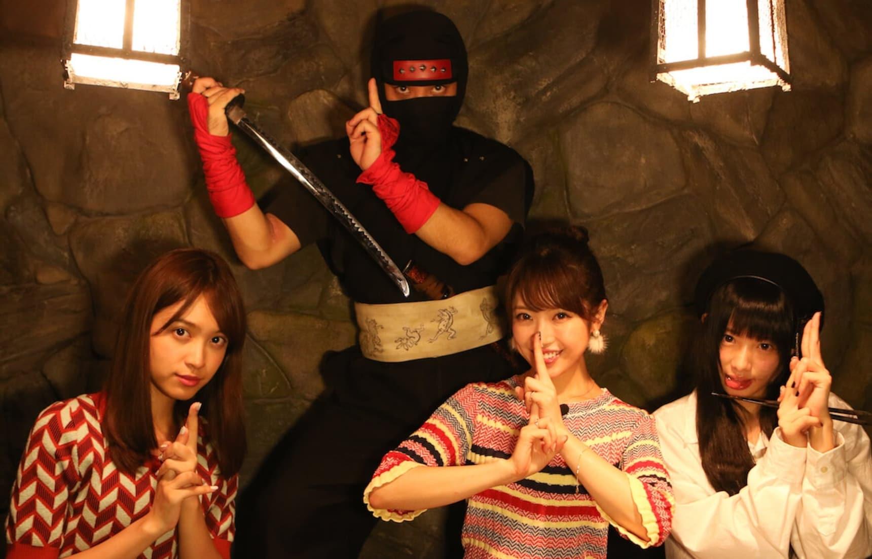 PIU! PIU! PIU!忍者主題餐廳@東京