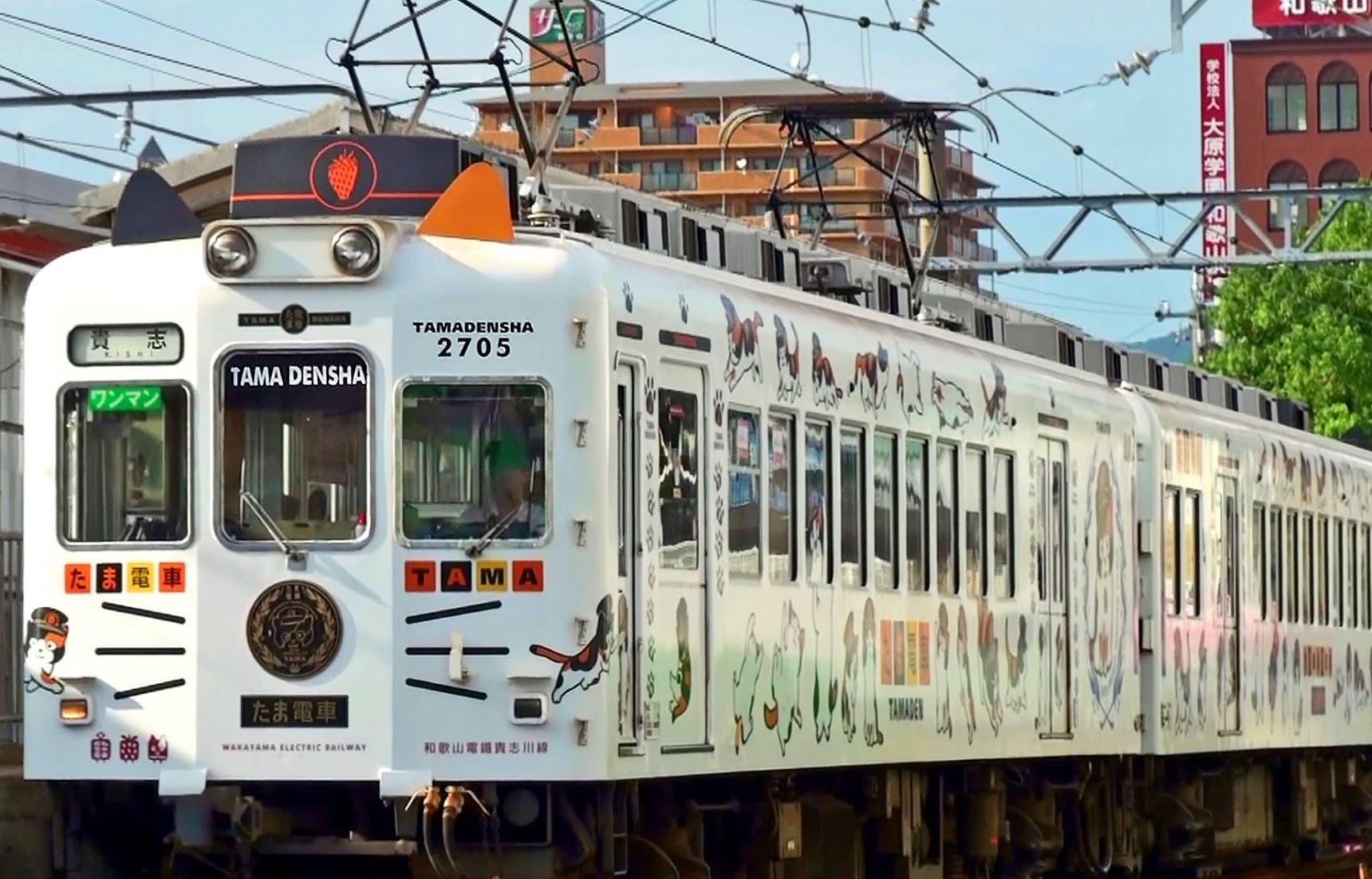 6 รถไฟสุดแปลกของญี่ปุ่น