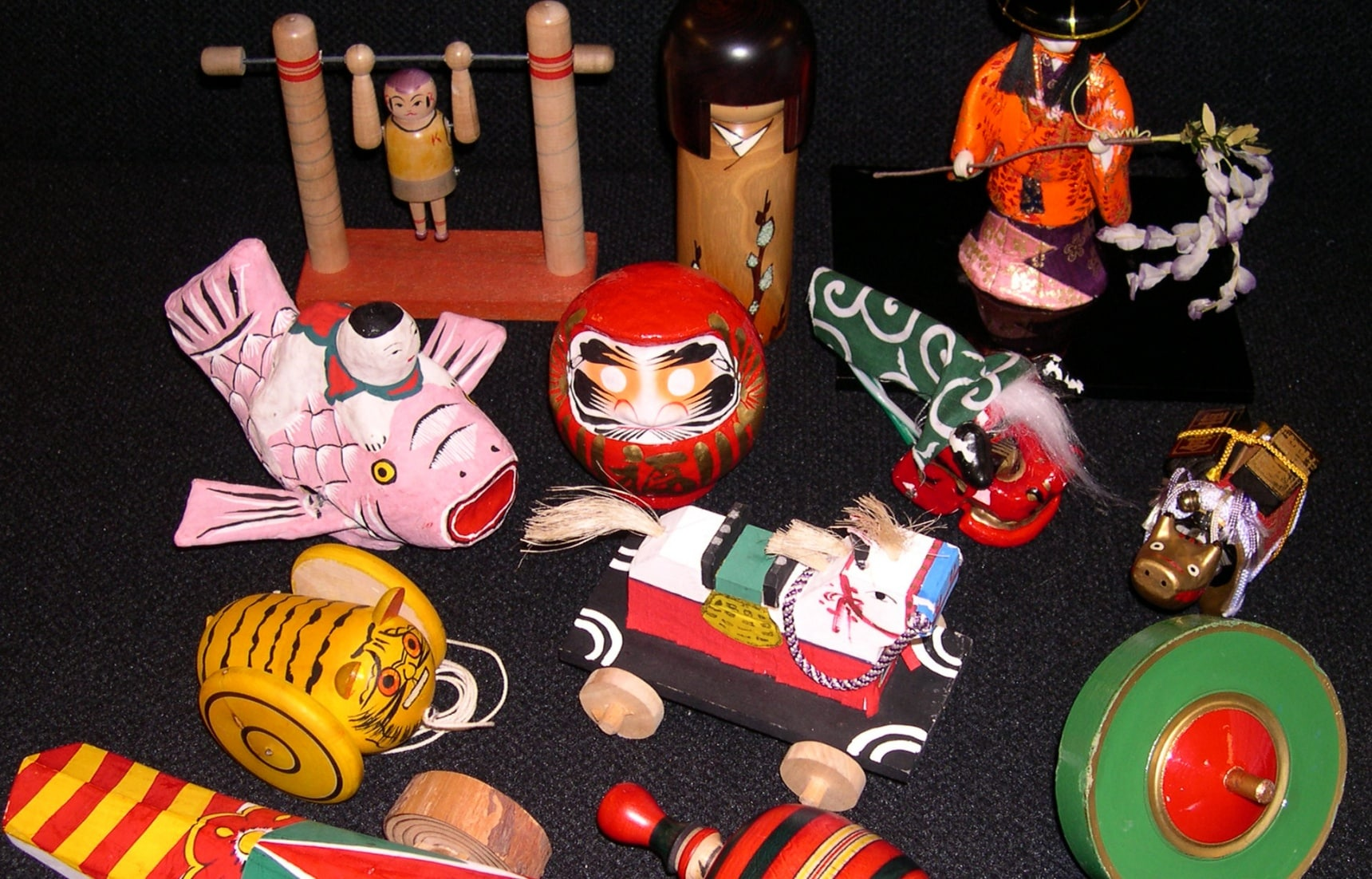 4 Traditional Japanese Toys