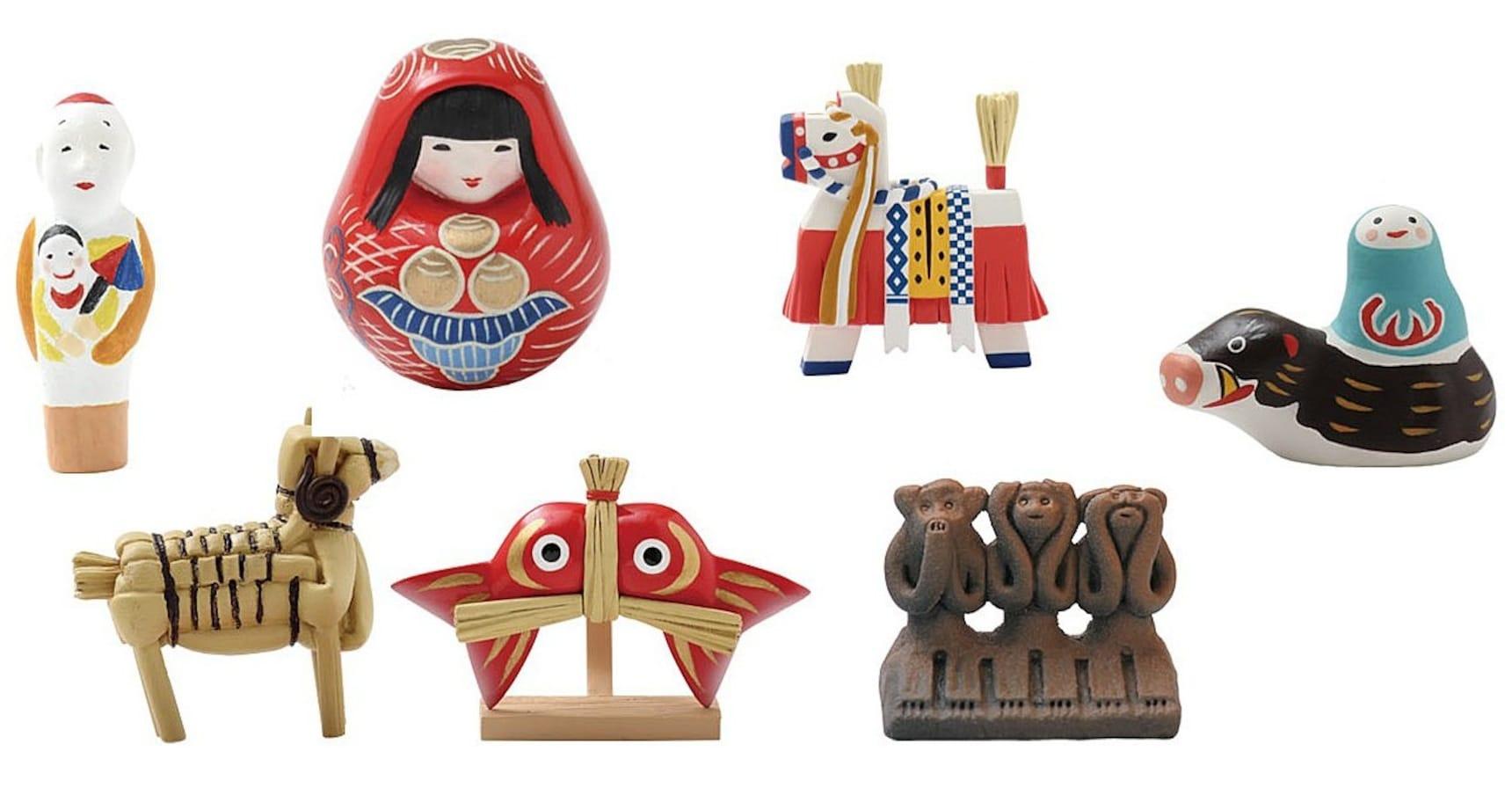 充滿和式氣息的日本傳統民藝玩具