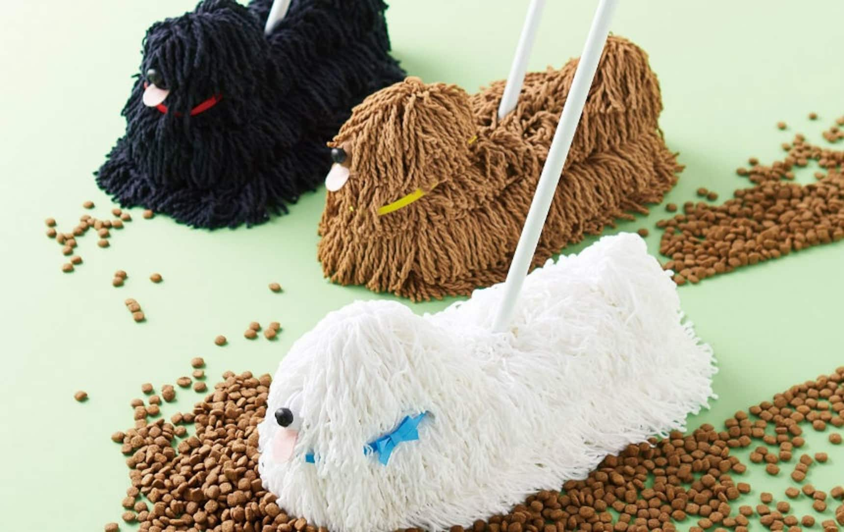 Mop Your Dirty Floors With a Pooch