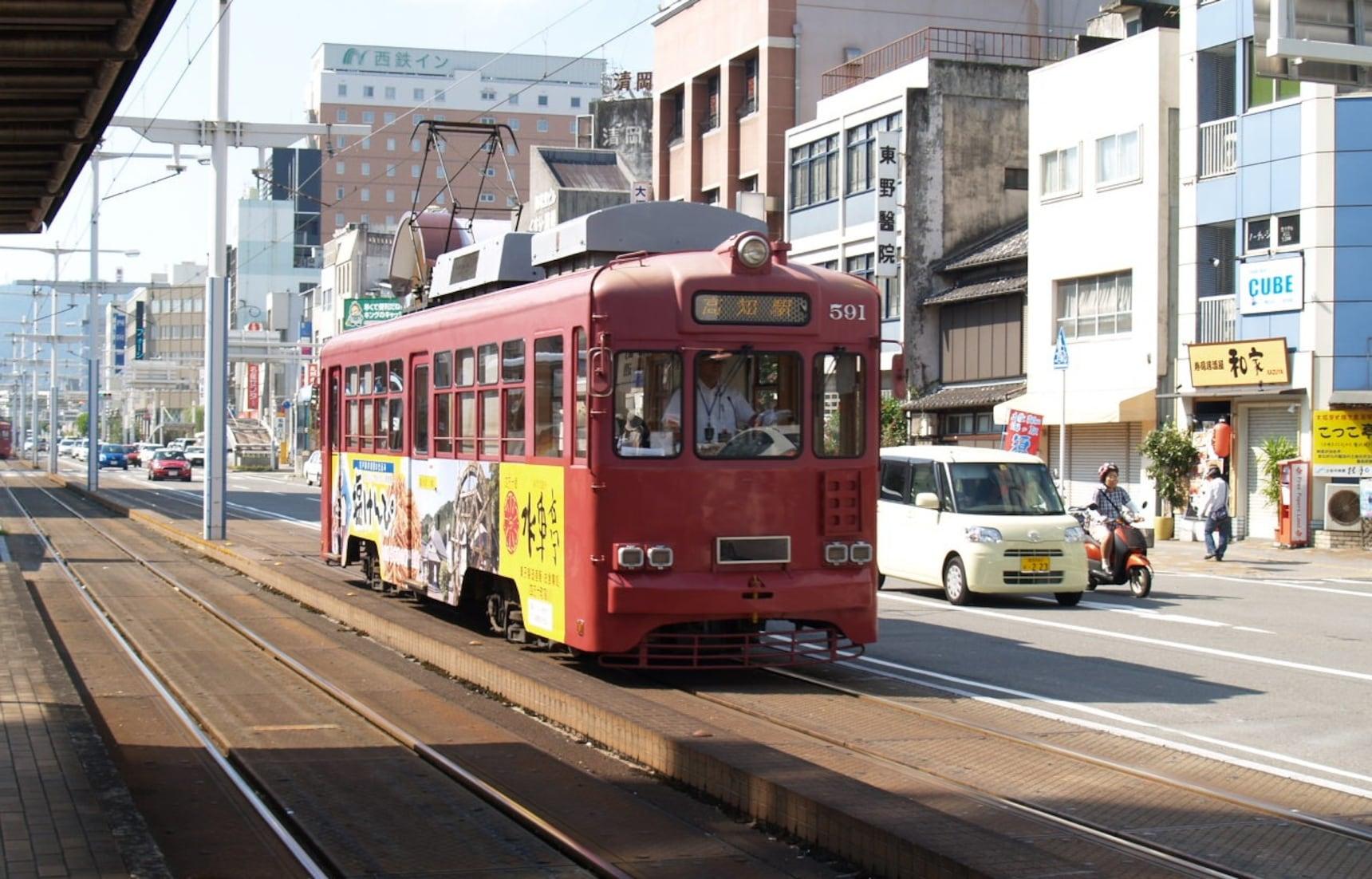 日本第一的周日市和路面電車