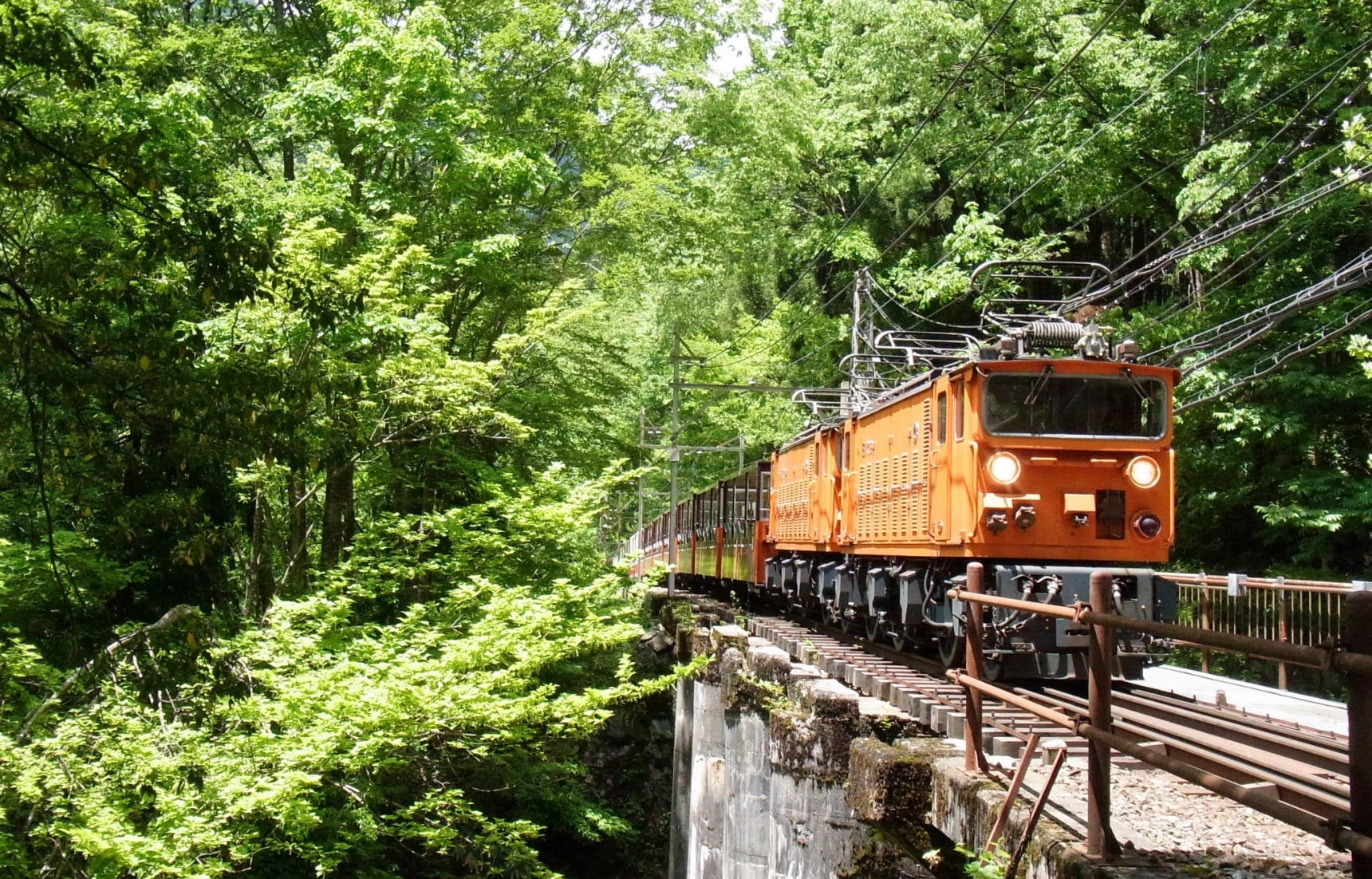 Take the Train through Japan's Deepest Gorge