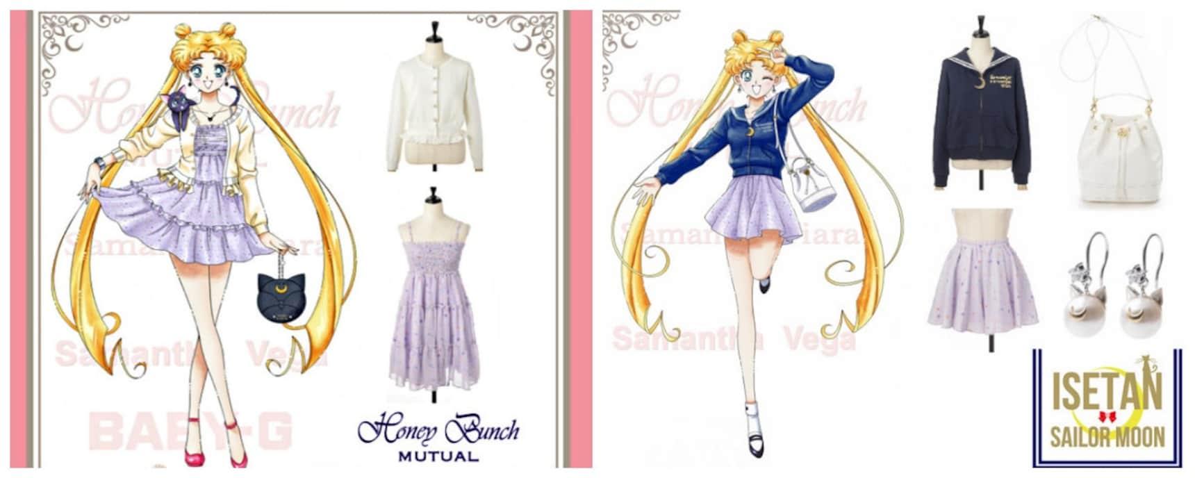 Fashionable Sailor Moon Attire