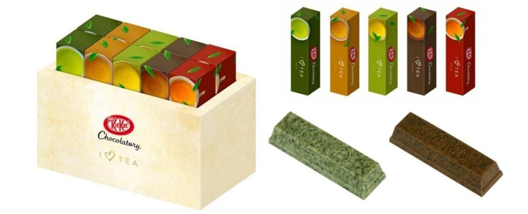 5 New Tea-Infused Kit Kat Flavors