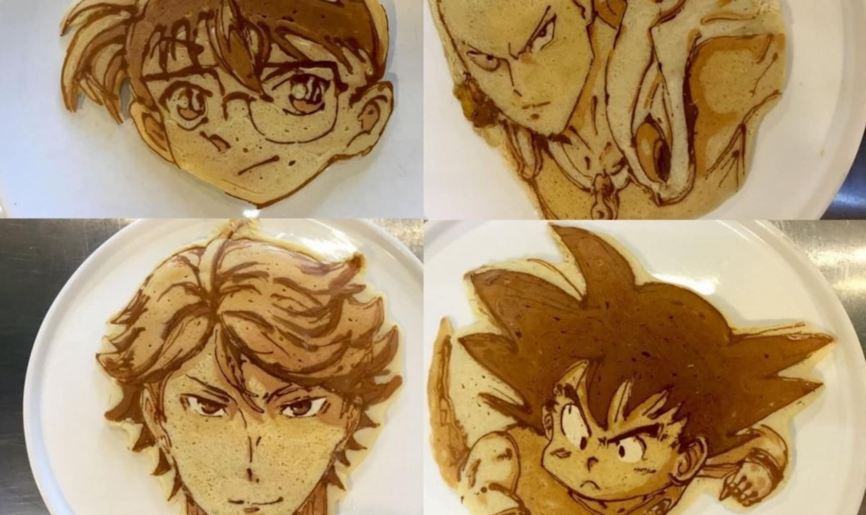 Amazing Anime Pancake Art!