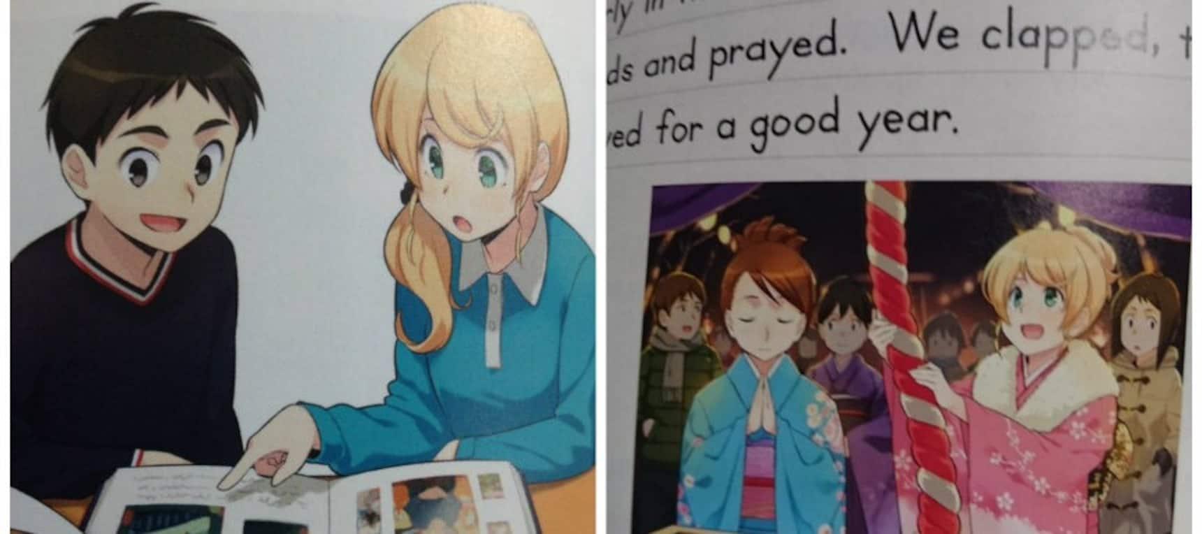English Textbooks Get a Manga-Makeover