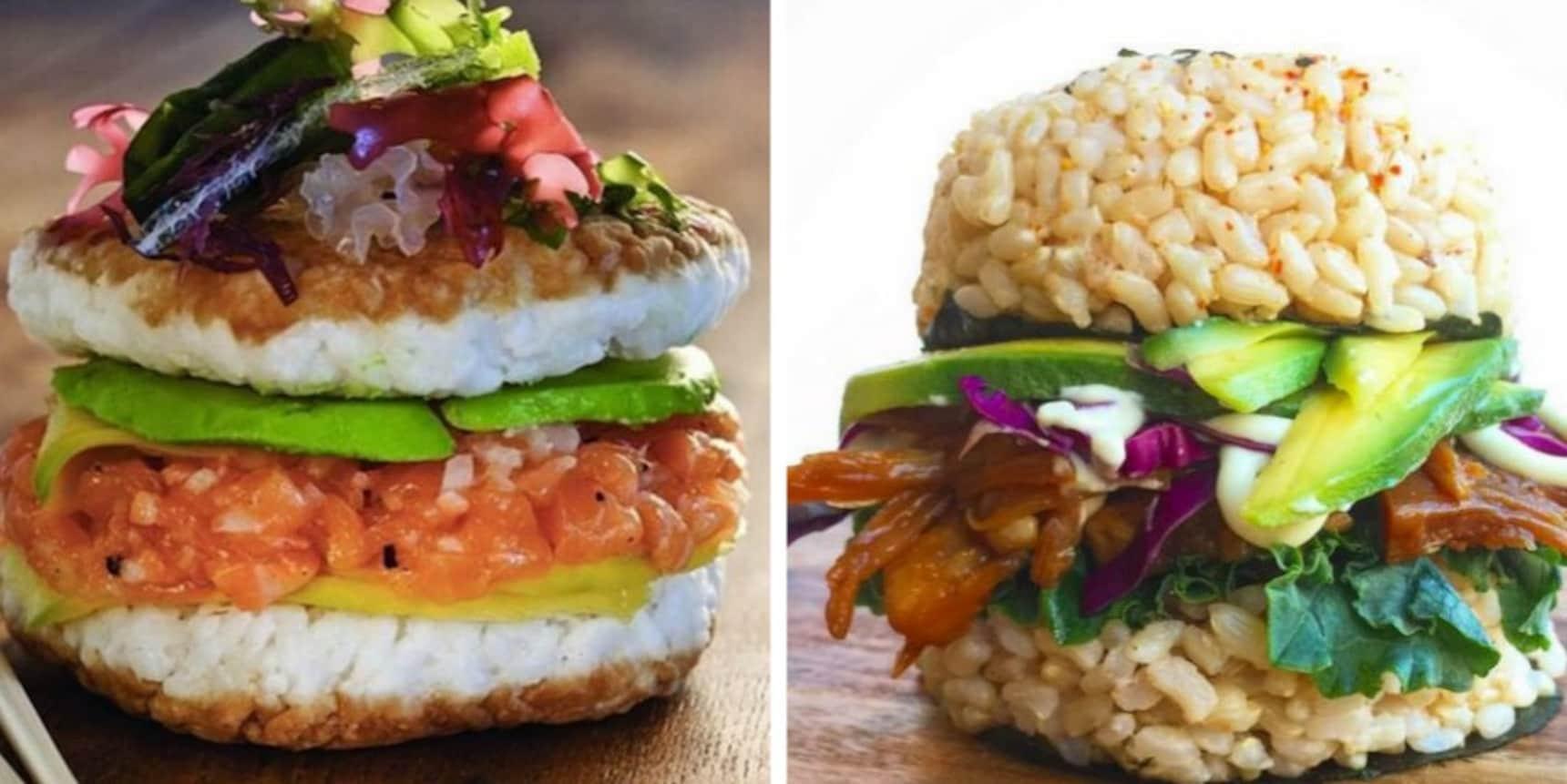 Sushi Burger Gallery!