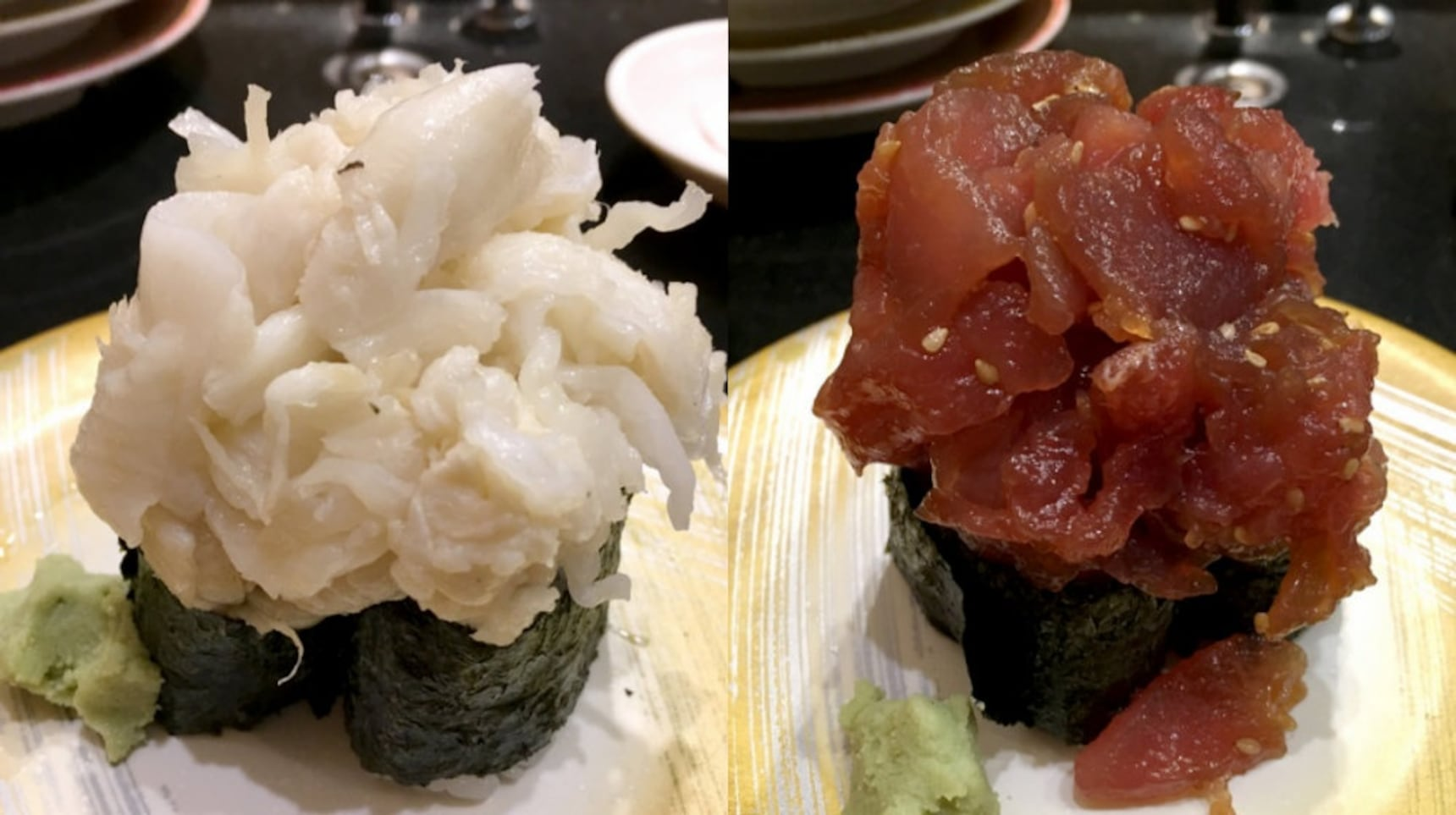Mountain-Sized Servings of Sushi in Ueno