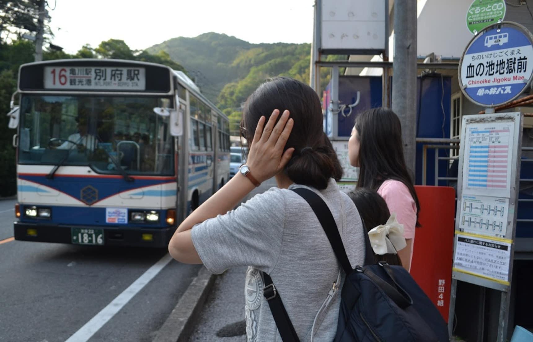 วิธีขึ้นรถบัสประจำทางในญี่ปุ่น