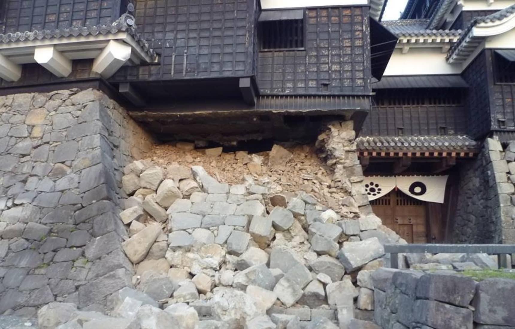 屹立不倒的熊本城