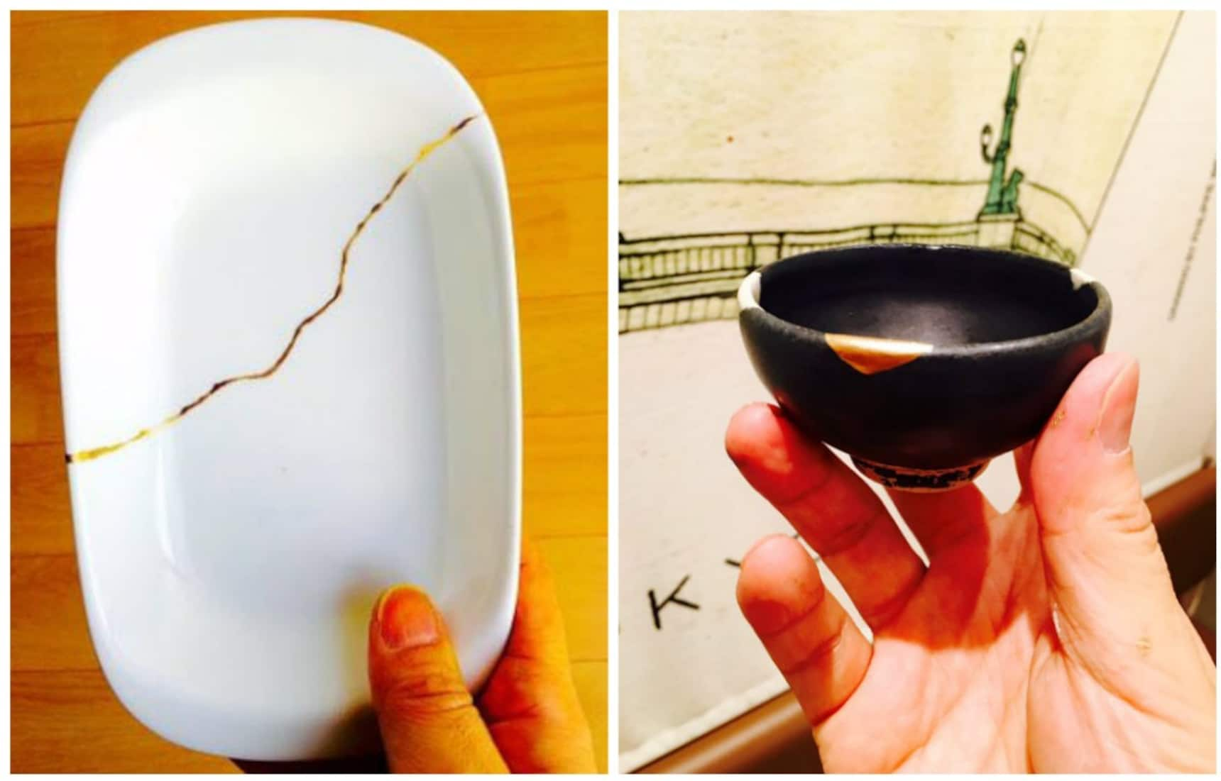 Making Broken Pottery Look Like New