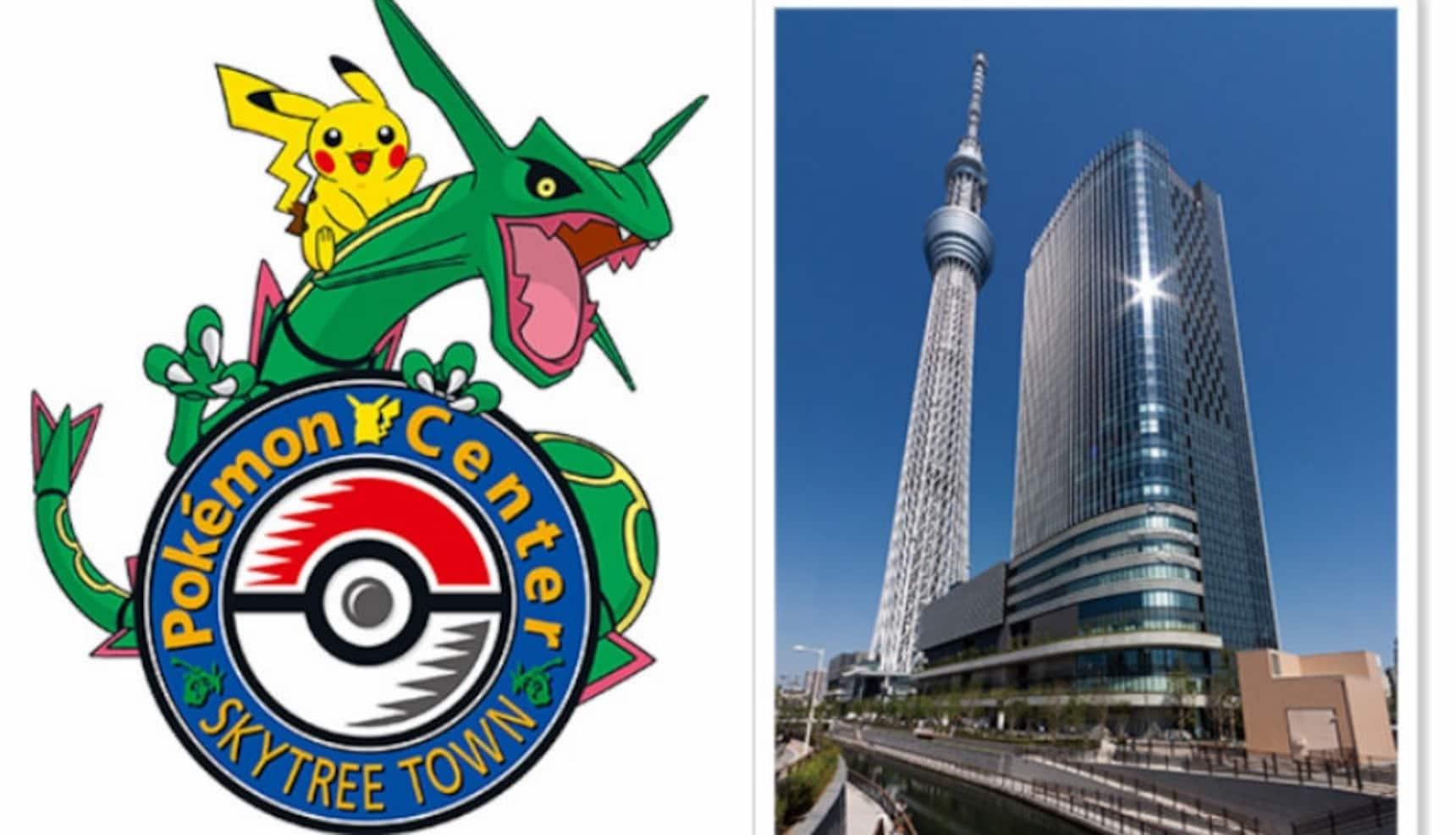 Pokémon Center Set to Open at Tokyo Skytree!