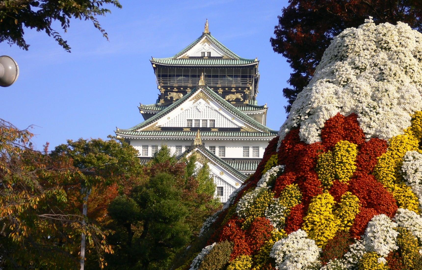 大阪独一无二的标志——大阪城深度游,及周边巡礼!