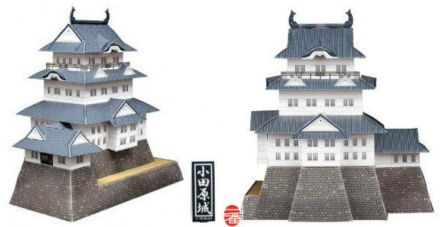 Get a 3-D Puzzle of Odawara Castle