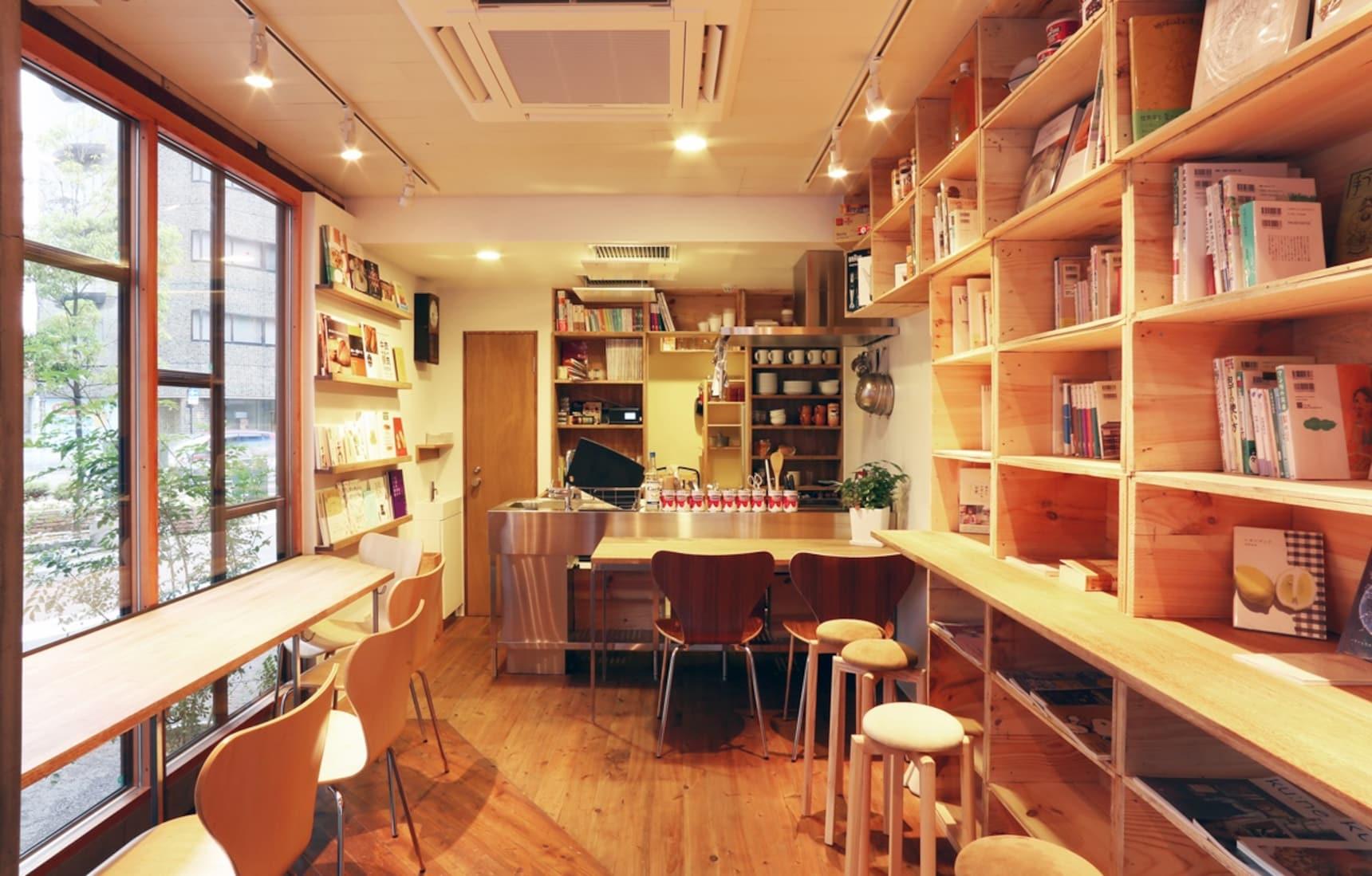 7 Book Cafe ชิลๆใน Tokyo