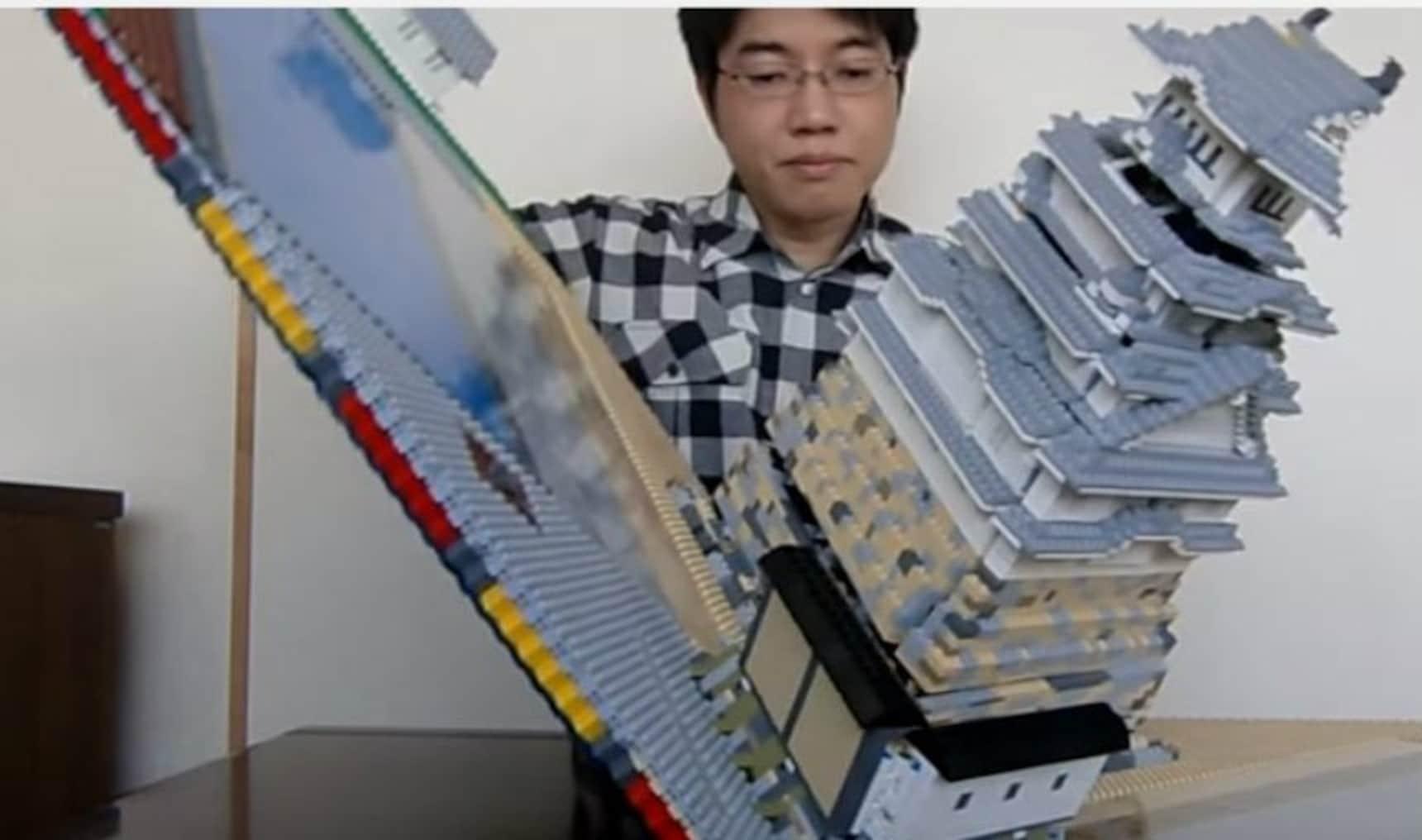 Folding Lego Samurai Not Included