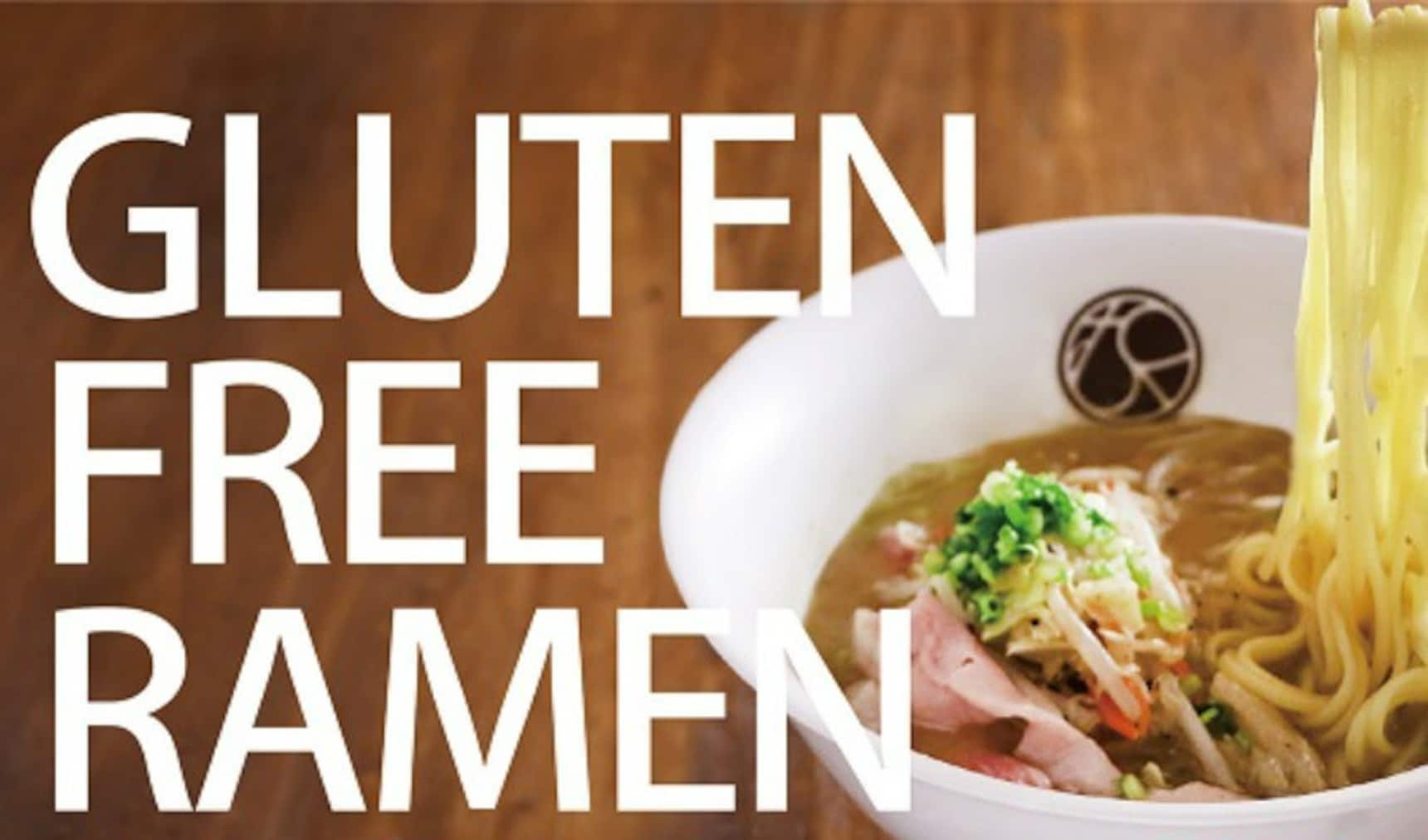 Chow Down on Some Gluten-Free Ramen