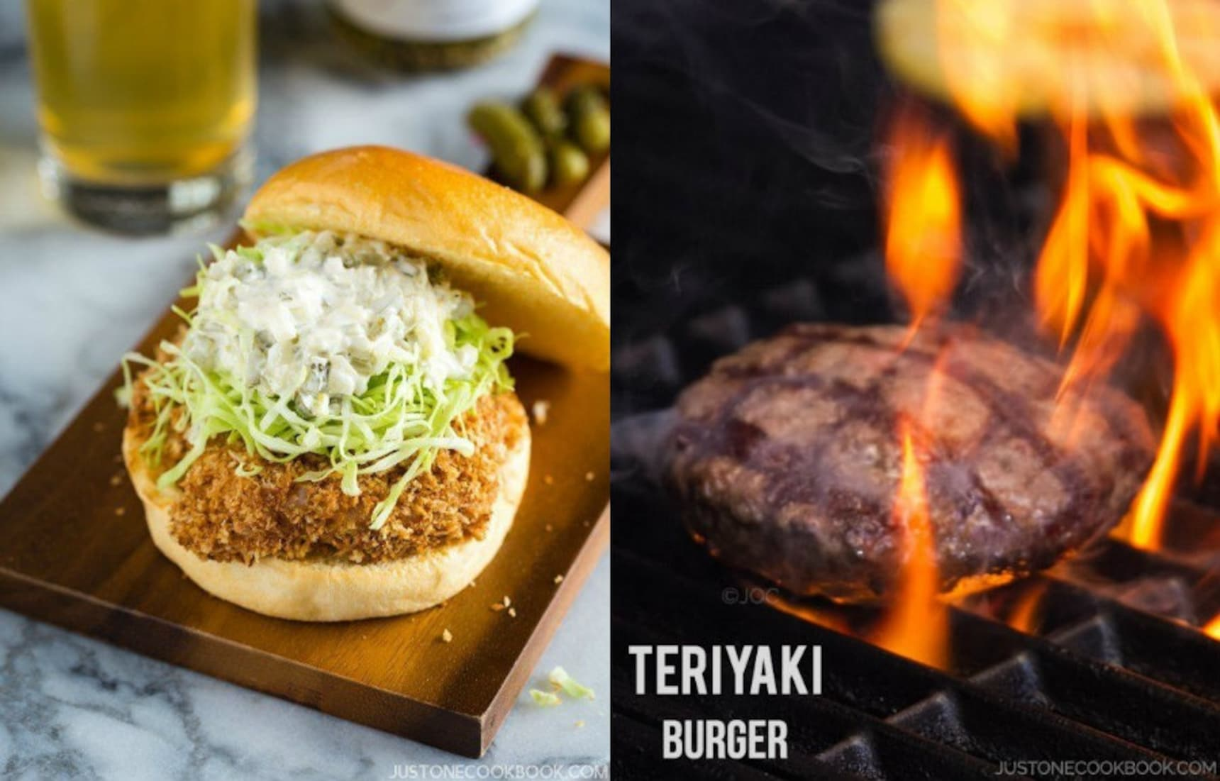 Make these 2 Classic Japanese Burgers at Home