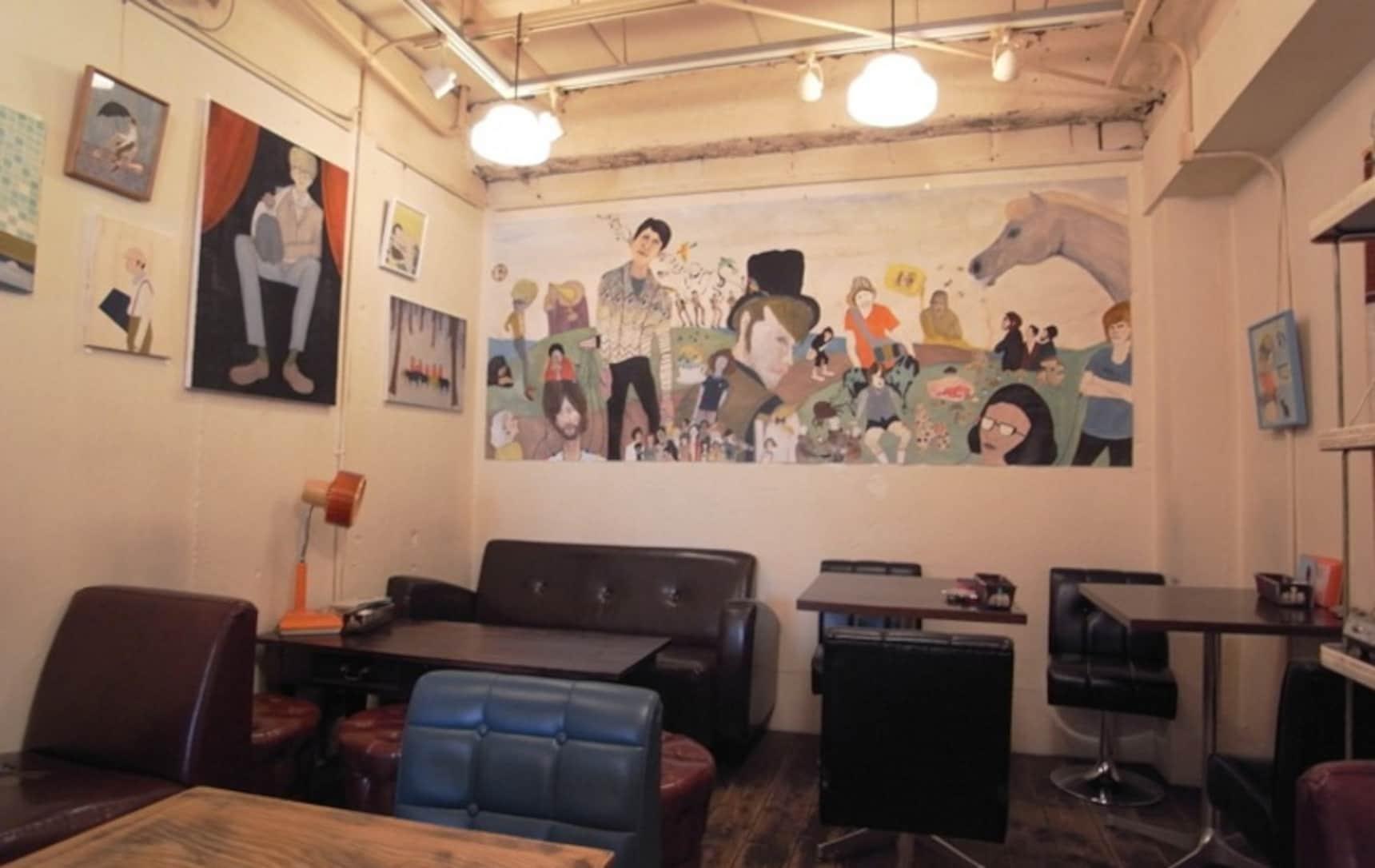 5 คาเฟ่&บาร์ที่มี Art Space สำหรับชมงานศิลปะ