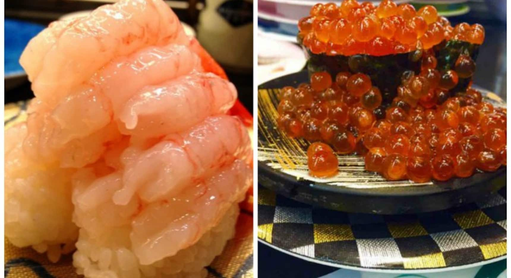 These Sushi Rolls Are Literally Over the Top!