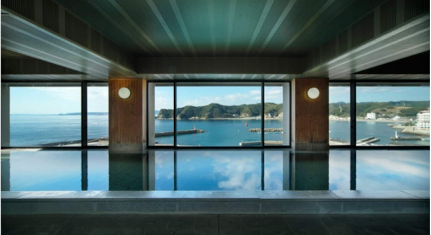 Onsen with an Ocean View
