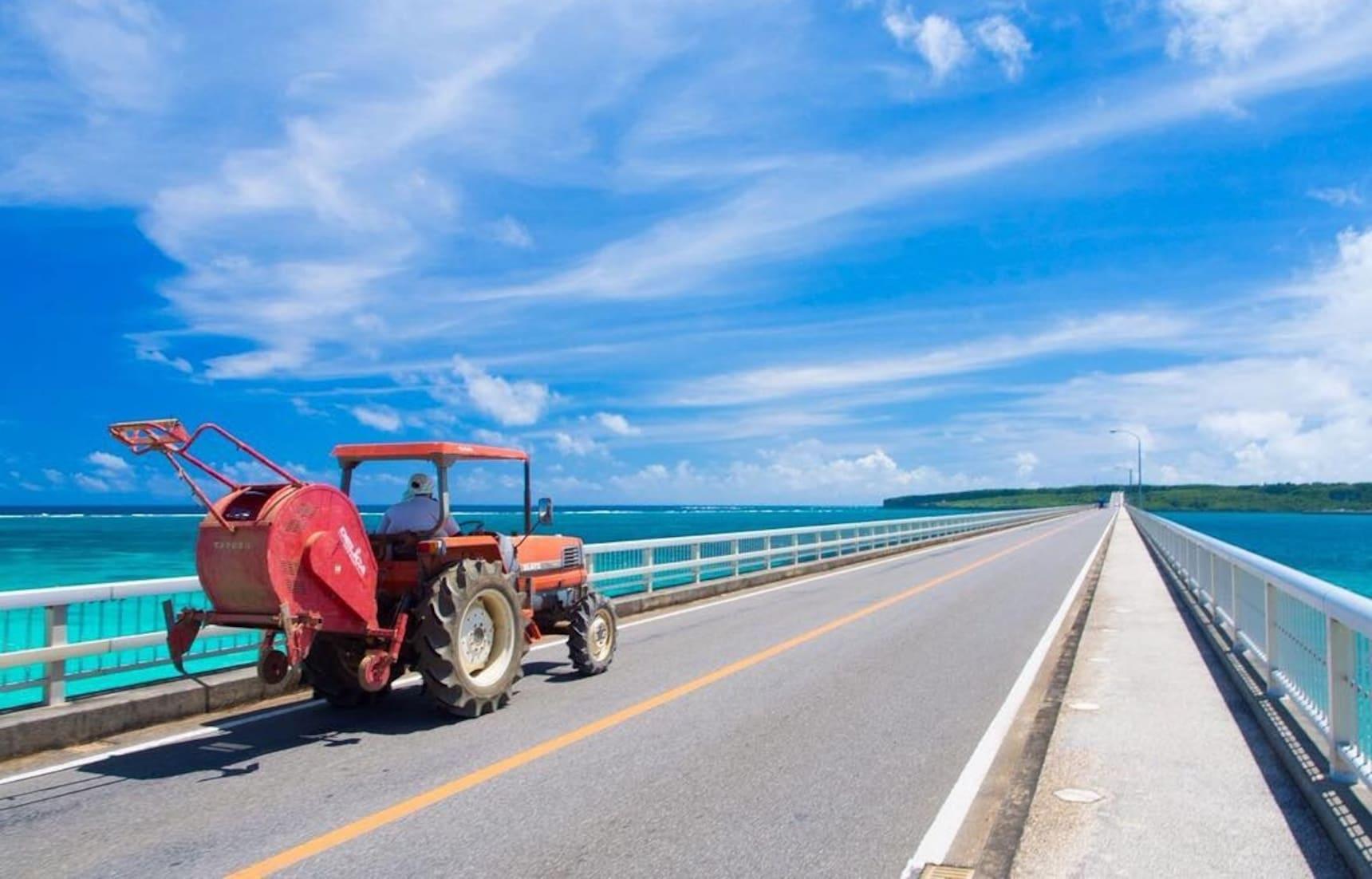 三座能看到美丽的冲绳风景大桥