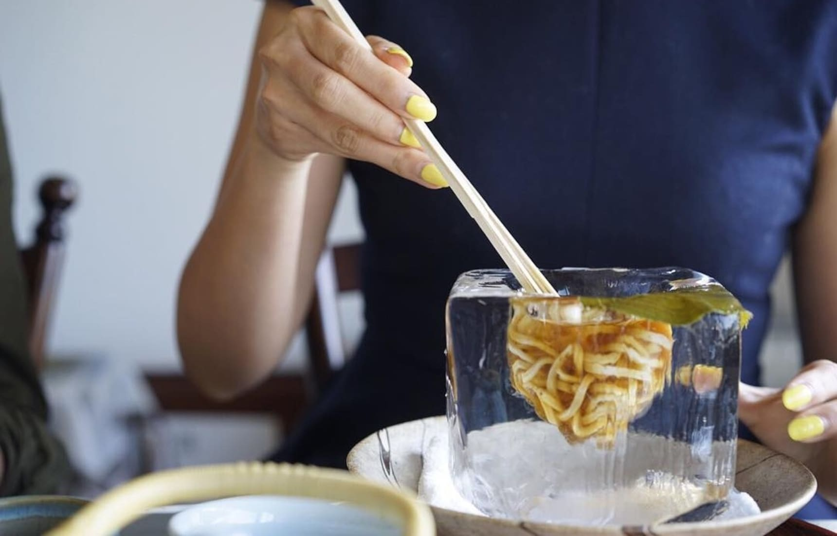 No Need to Wait for These Noodles to Cool Down