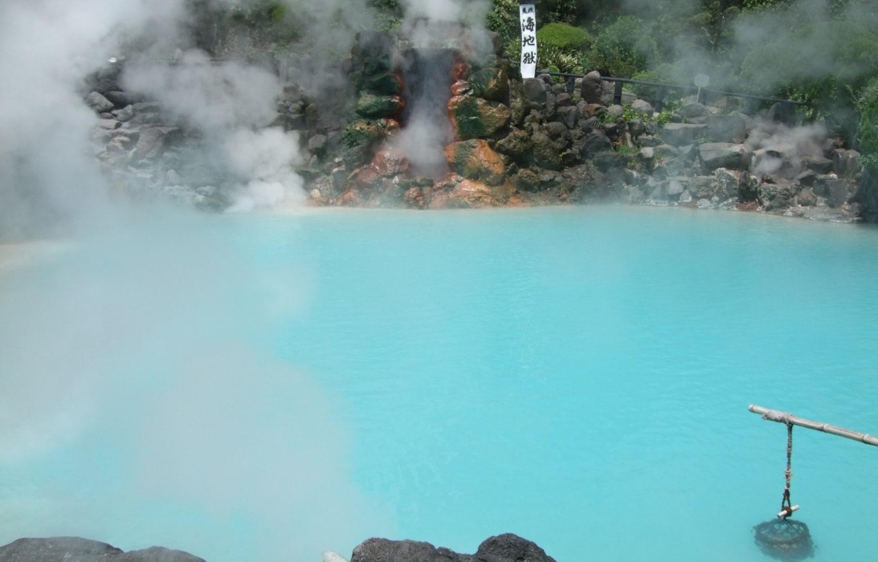 5 ออนเซ็นตามธรรมชาติที่แช่ได้ฟรีได้ใน Kyushu