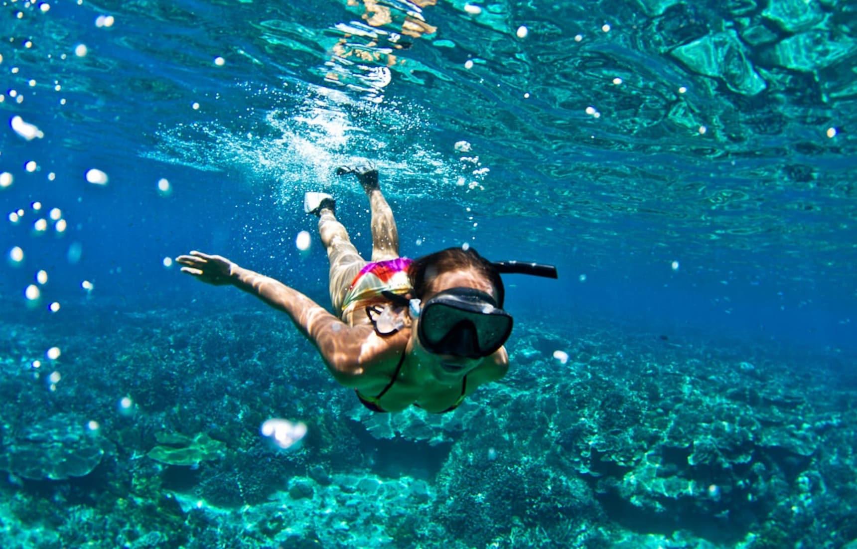 【日本自由行】海底世界初體驗!夏天就是要浮潛!